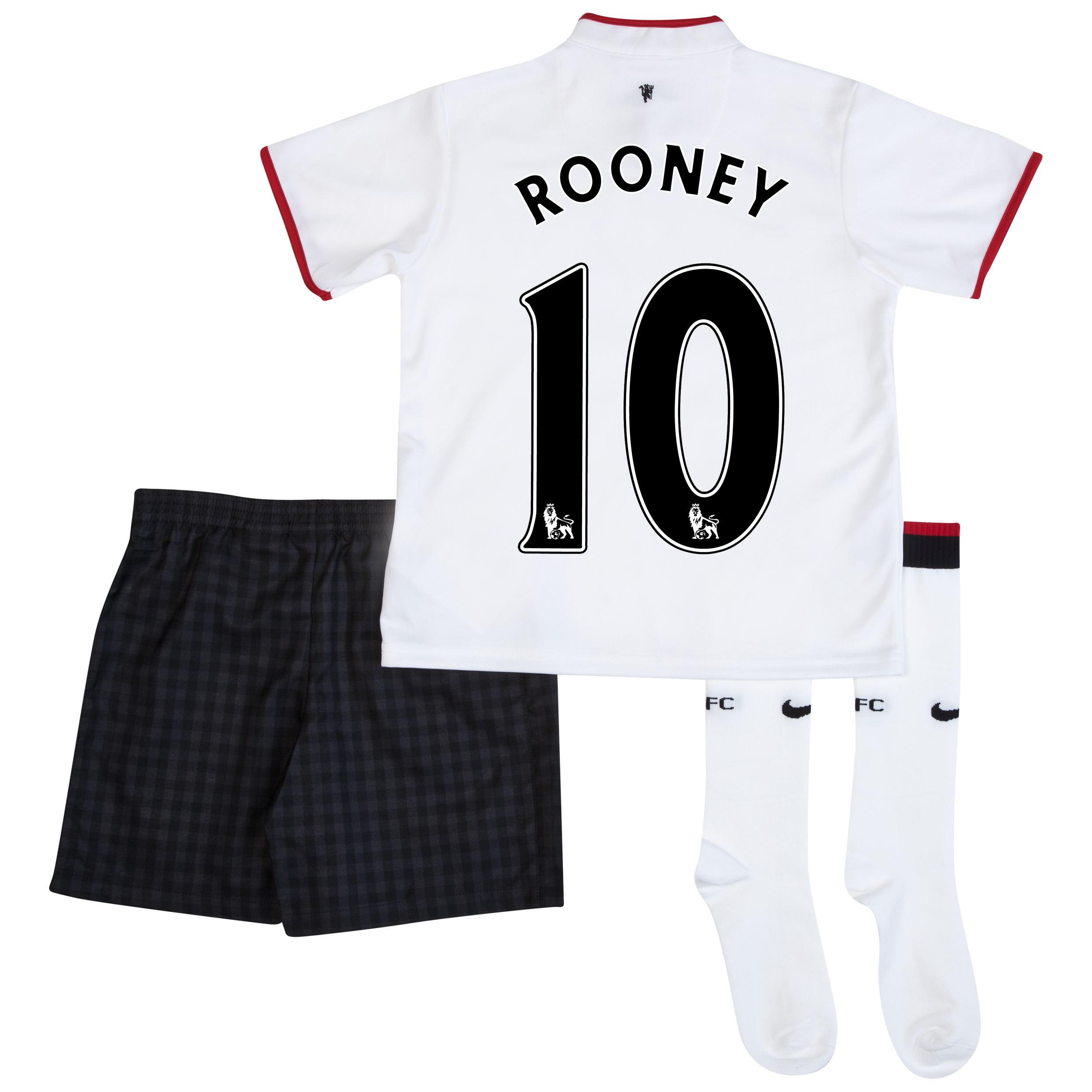 Manchester United Away Kit 2012/13 - Little Boys with Rooney 10 printing