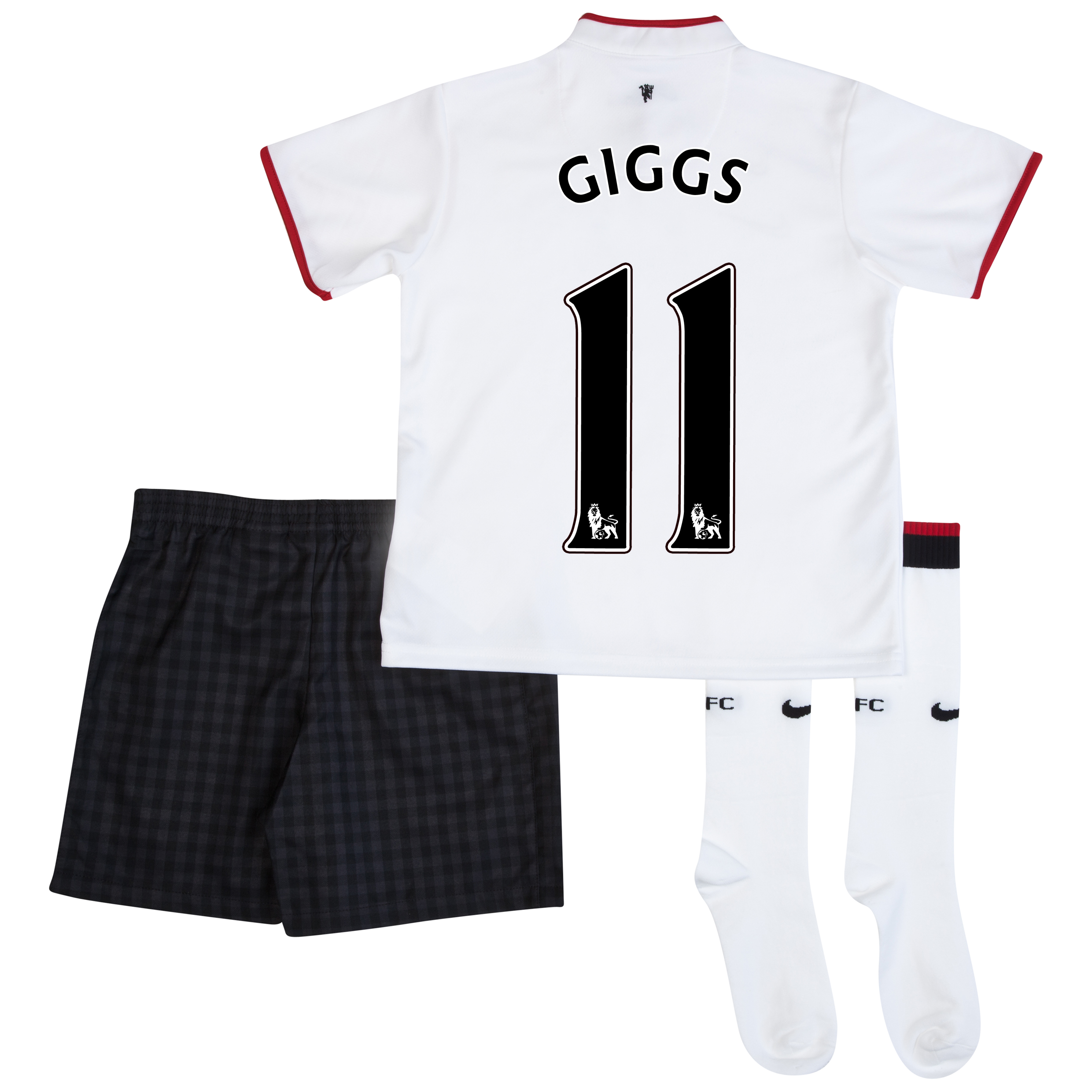 Manchester United Away Kit 2012/13 - Little Boys with Giggs 11 printing