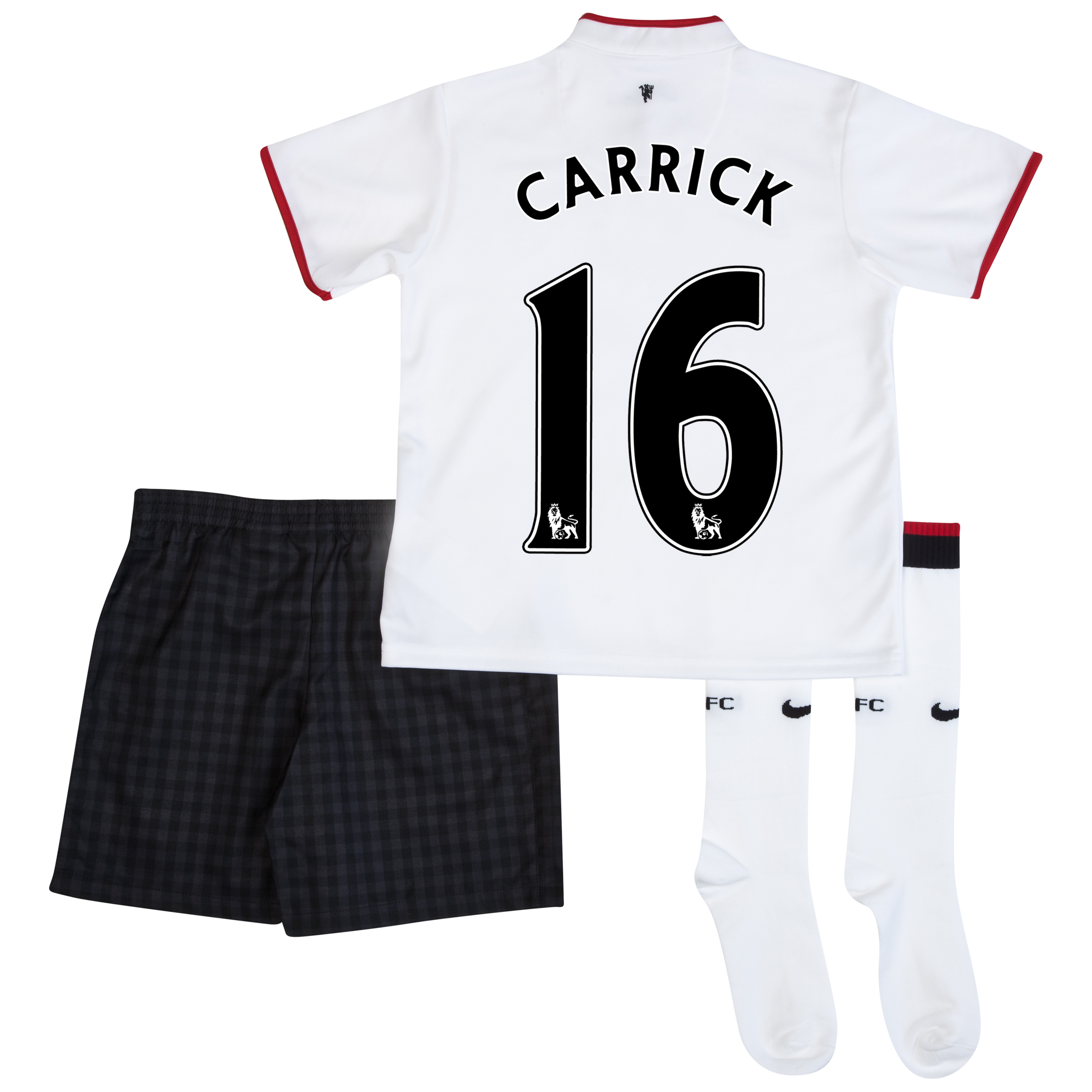 Manchester United Away Kit 2012/13 - Little Boys with Carrick 16 printing