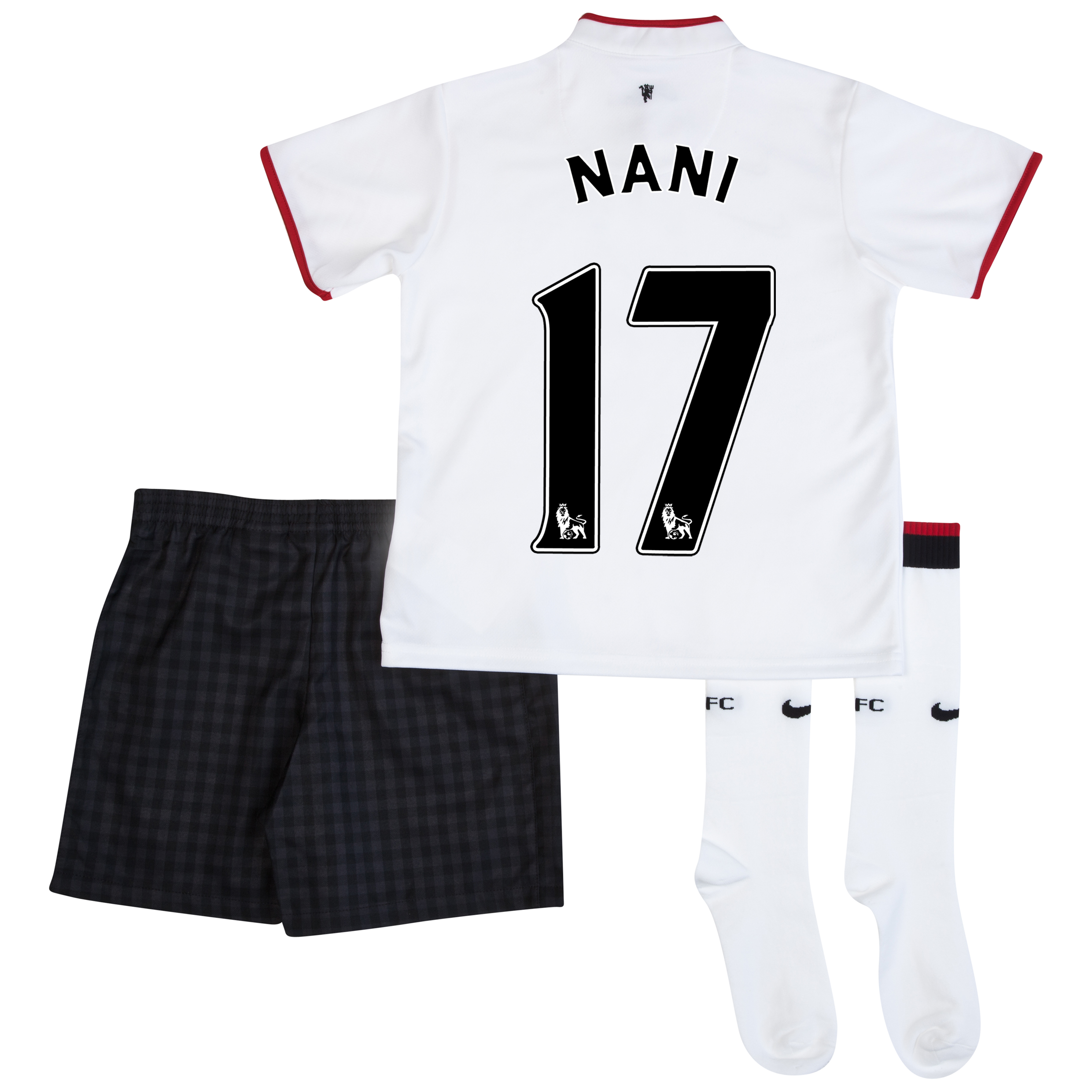 Manchester United Away Kit 2012/13 - Little Boys with Nani 17 printing