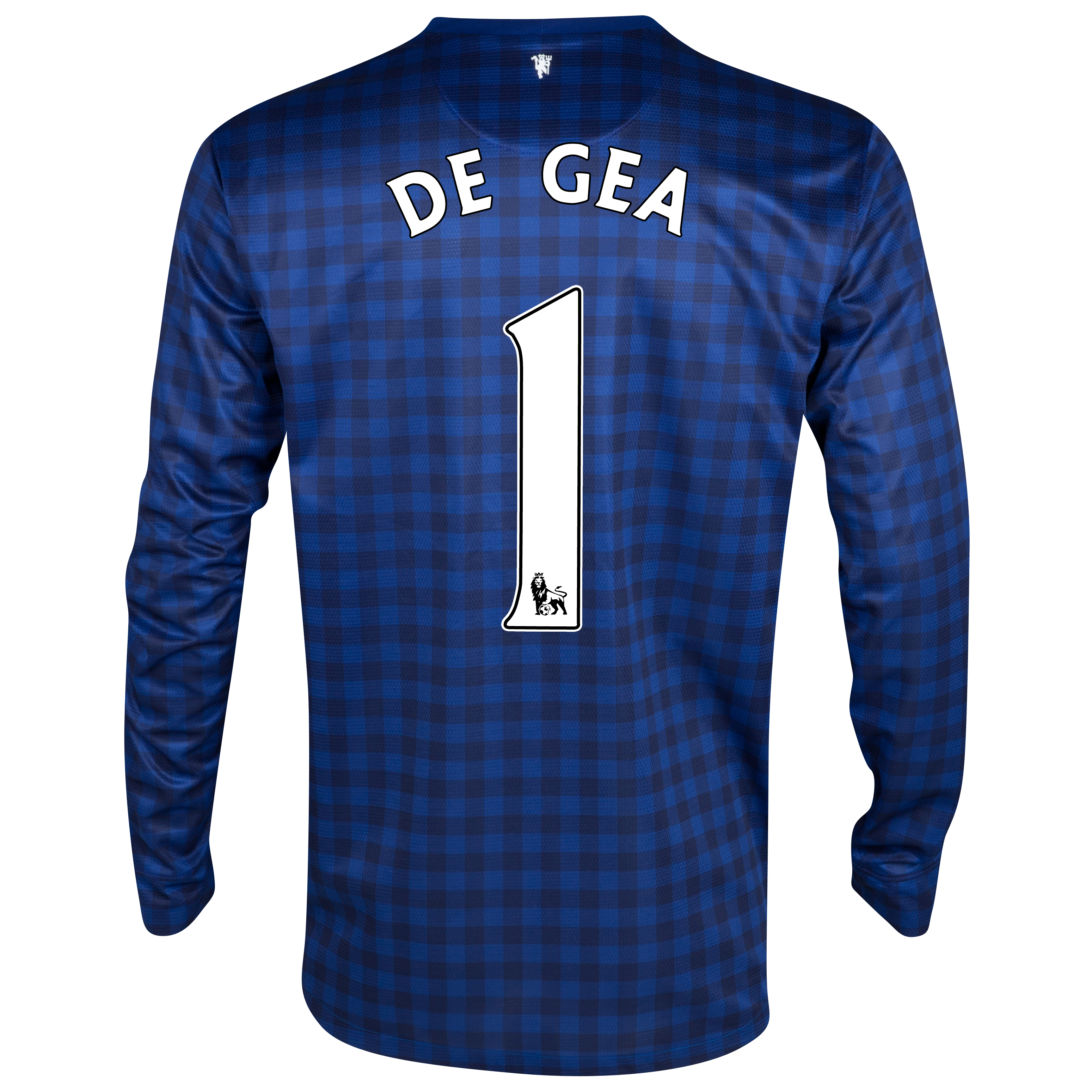 Manchester United Away Goalkeeper Shirt 2012/13 - Kids with De Gea 1 printing