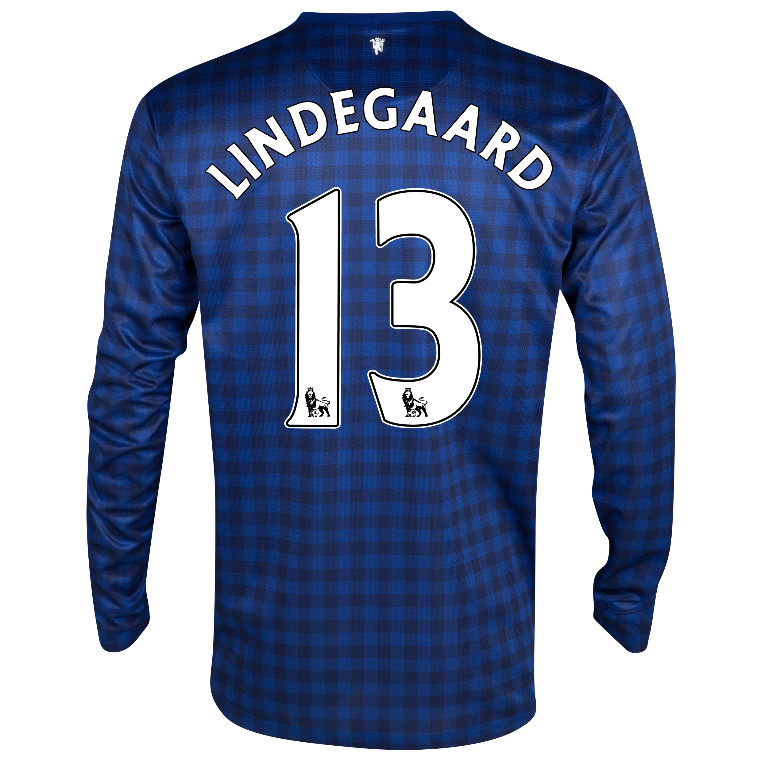 Manchester United Away Goalkeeper Shirt 2012/13- Youths with Lindegaard 13 printing