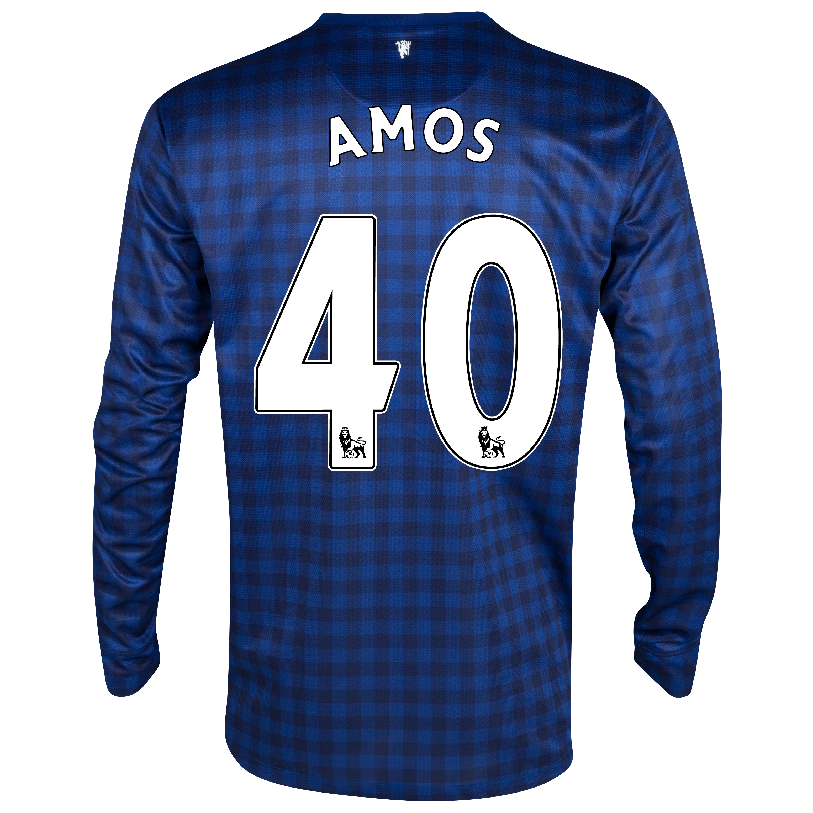 Manchester United Away Goalkeeper Shirt 2012/13- Youths with Amos 40 printing