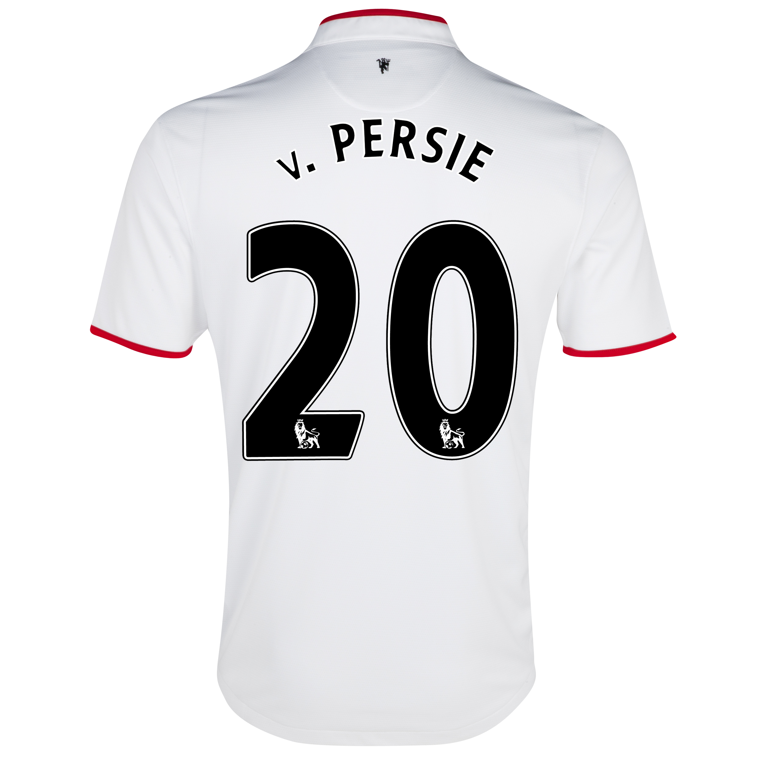 Manchester United Away Shirt 2012/13 with v.Persie 20 printing