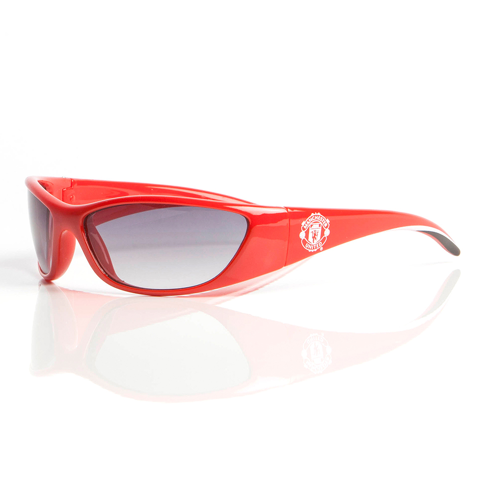 Manchester United Wrap Sunglasses Red - Adult