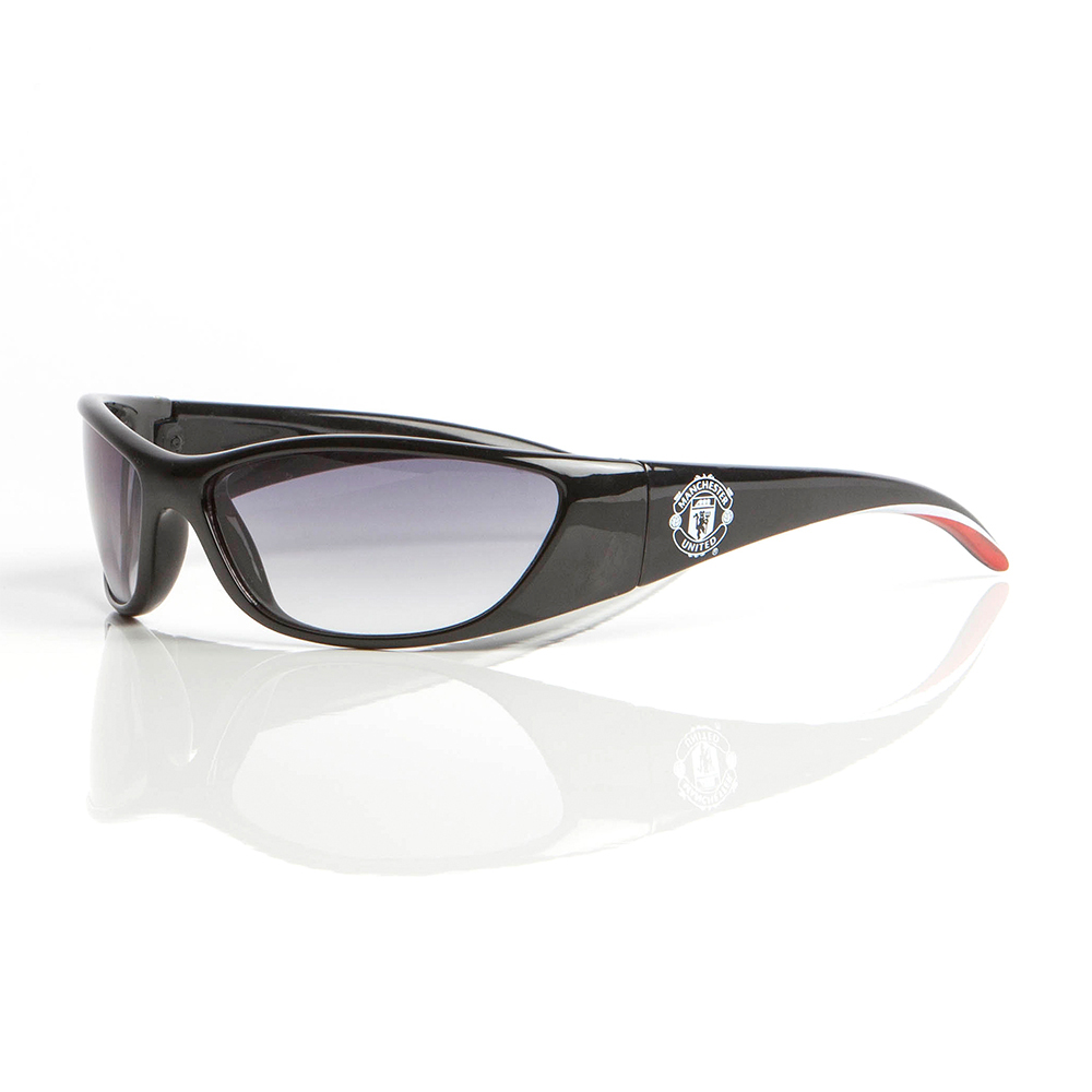 Manchester United Wrap Sunglasses Black - Adult