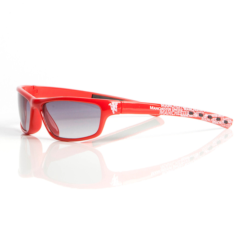 Manchester United  Sunglasses Wrap Red - Junior