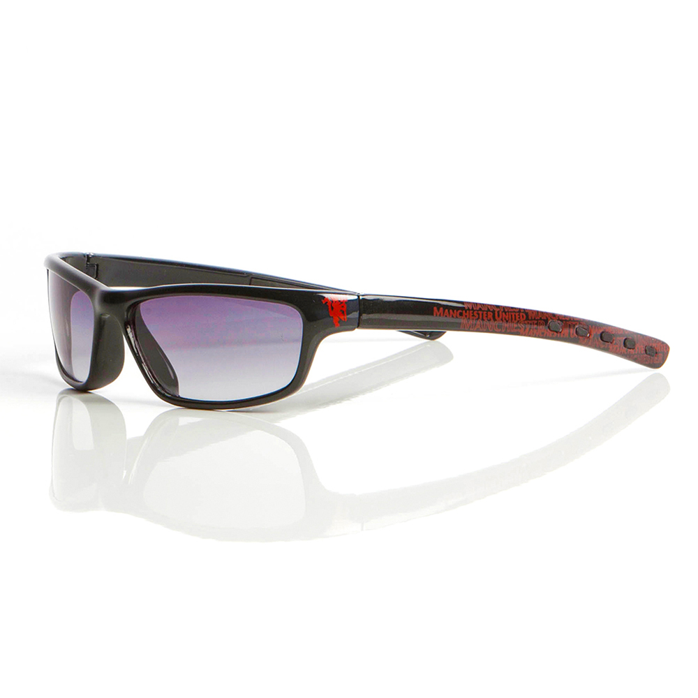 Manchester United Sunglasses Wrap Black - Junior