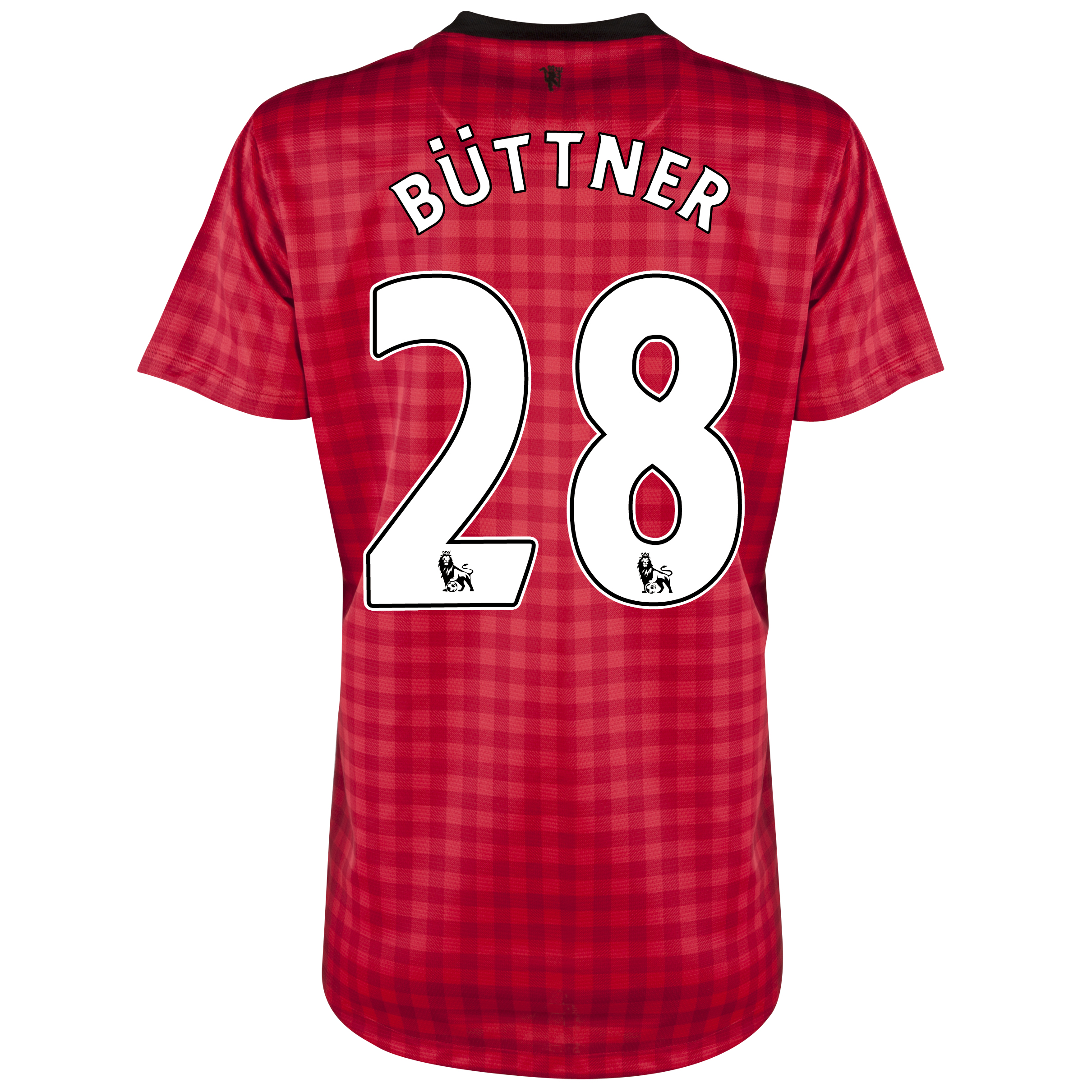 Manchester United Home Shirt 2012/13 - Womens with Büttner 28 printing