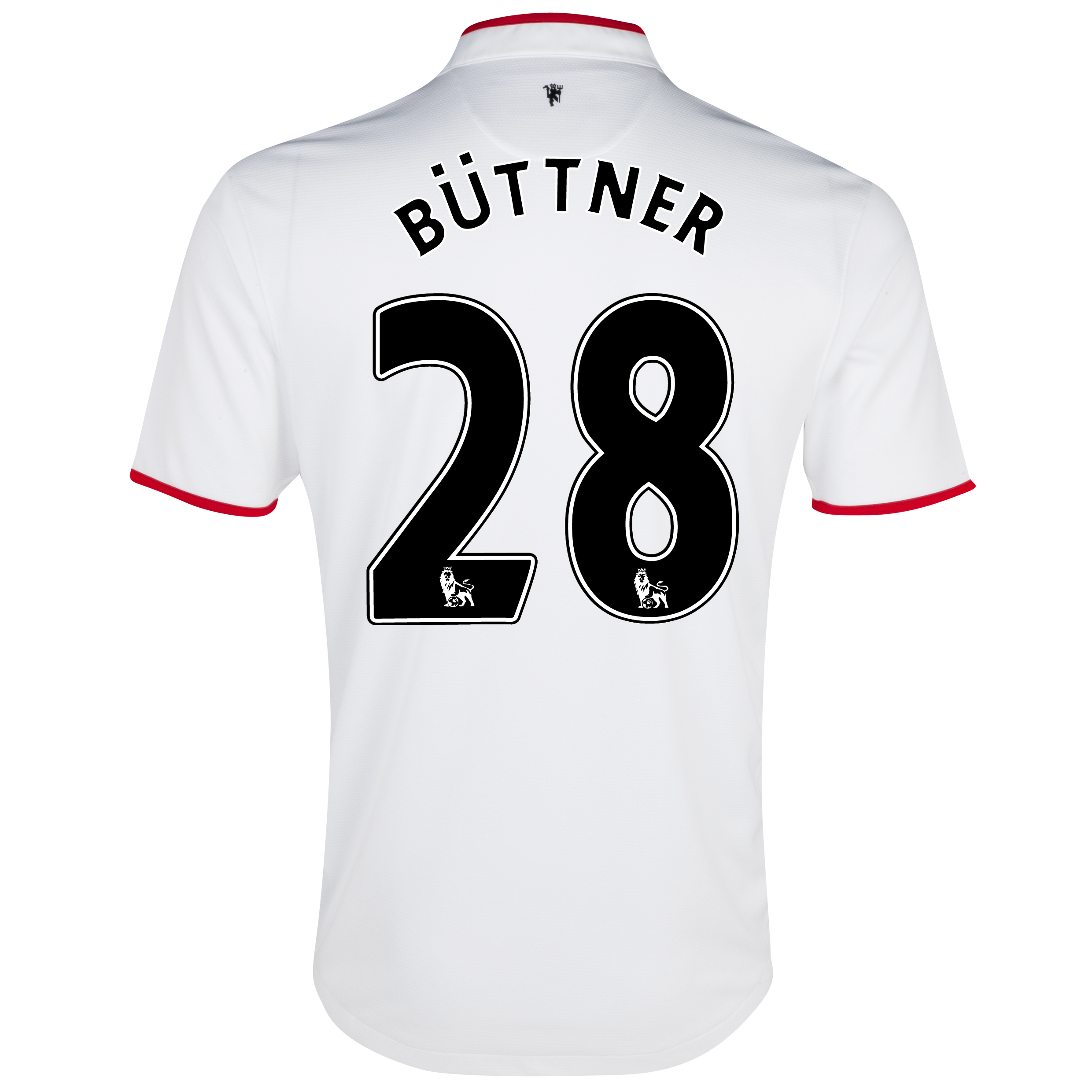 Manchester United Away Shirt 2012/13 with Büttner 28 printing