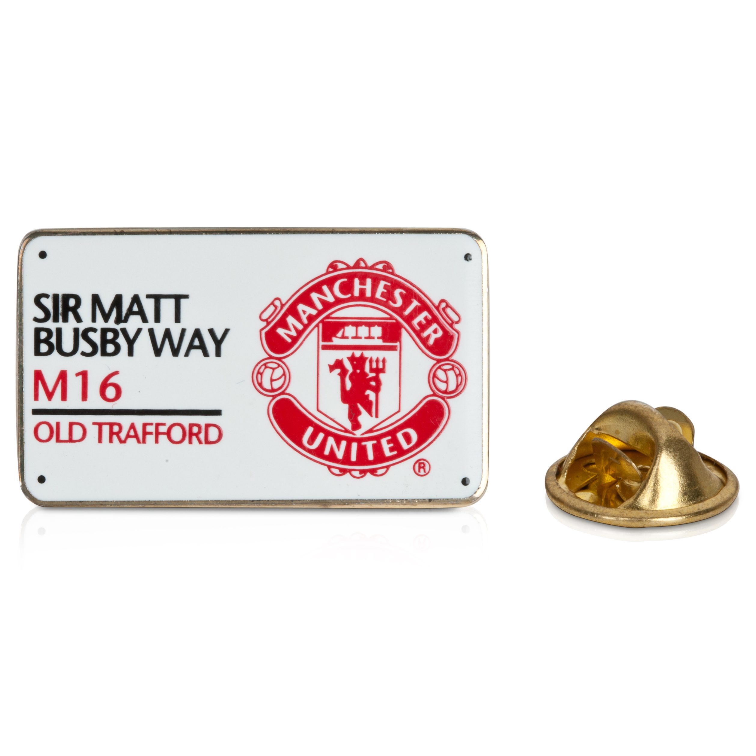 Manchester United Street Sign Badge