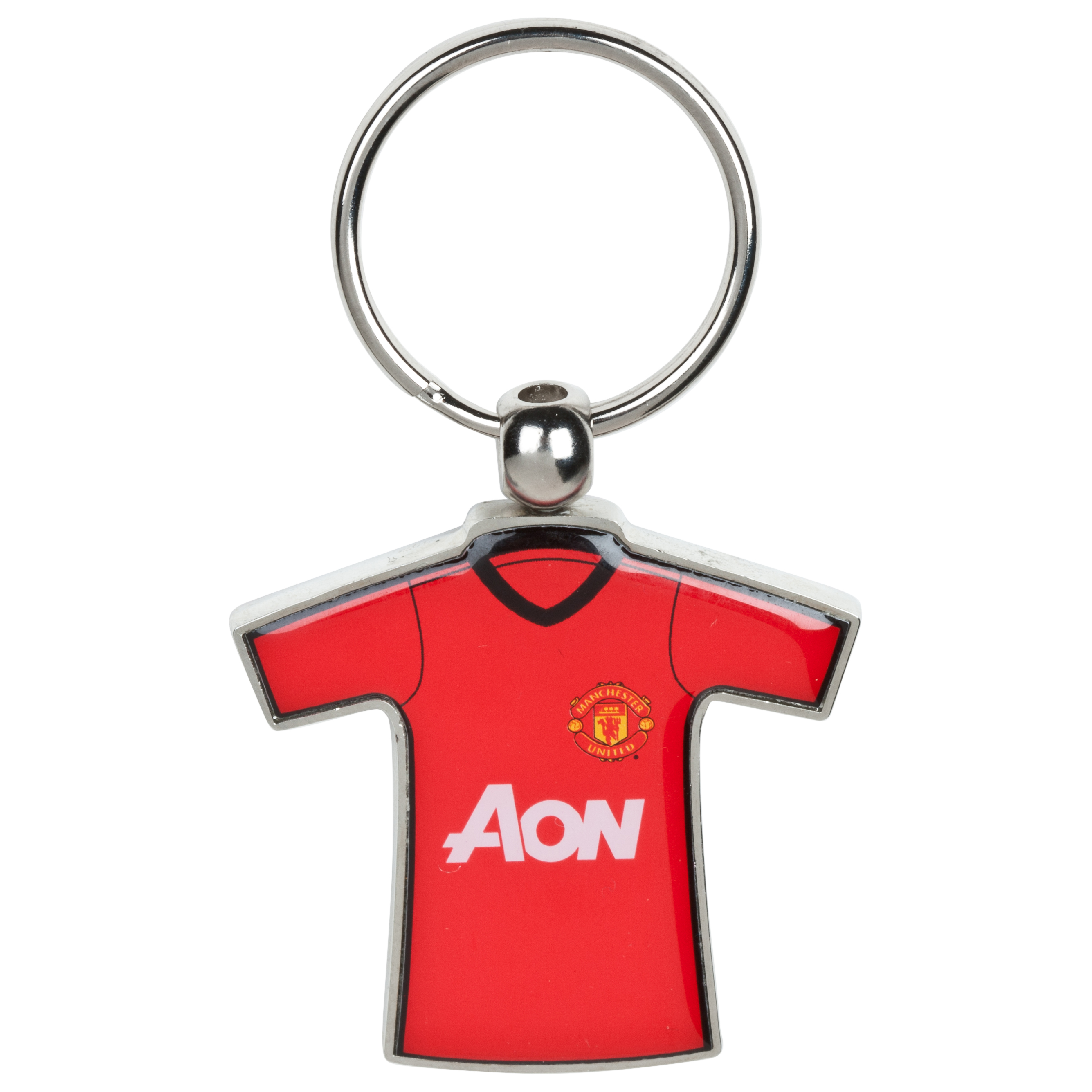Manchester United 2012/13 Home/Away Kit Keyring - Metal