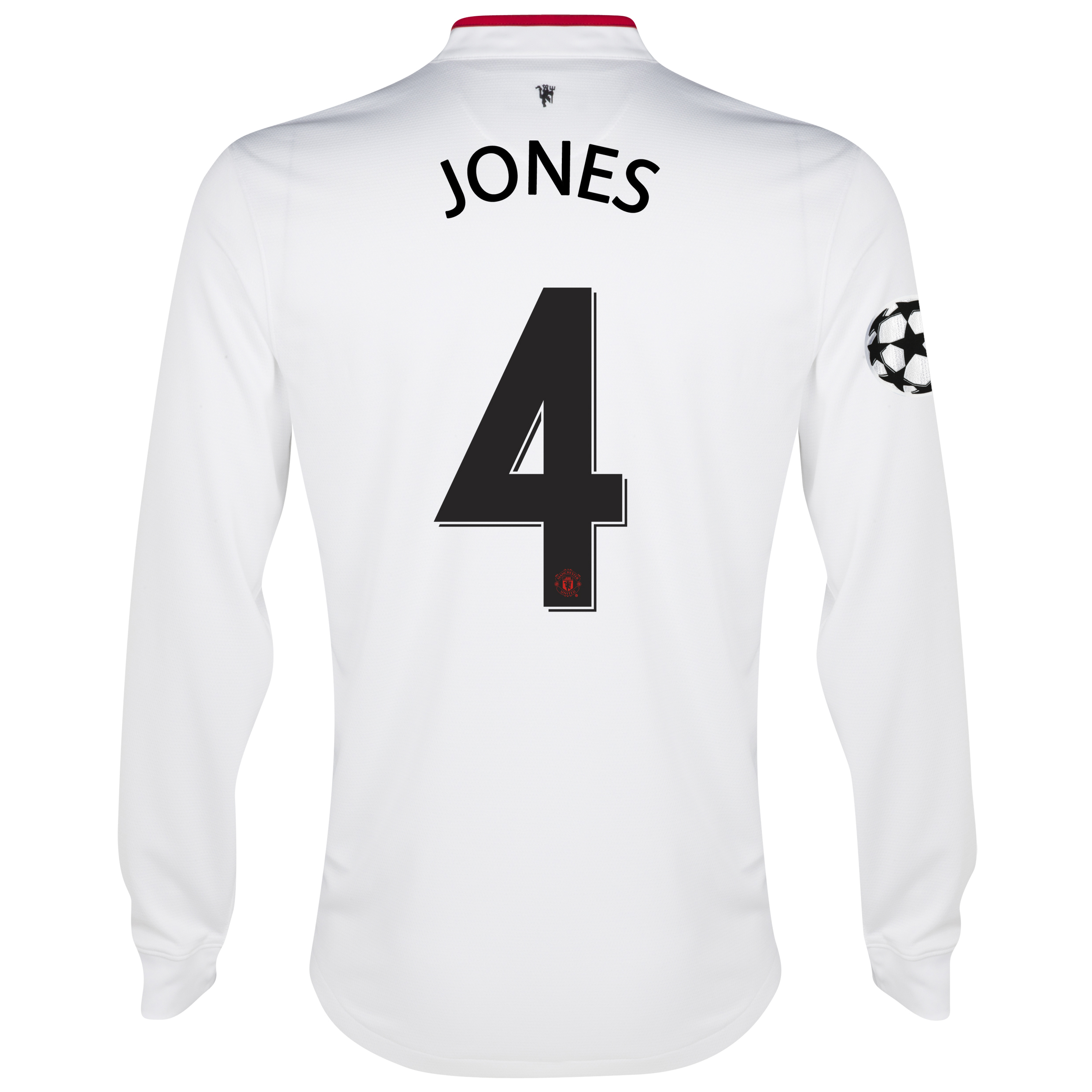 Manchester United UEFA Champions League Away Shirt 2012/13 - Long Sleeved - Kids with Jones 4 printing
