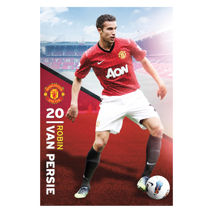 Manchester United 2012/13 Van Persie Poster - 61 x 92cm