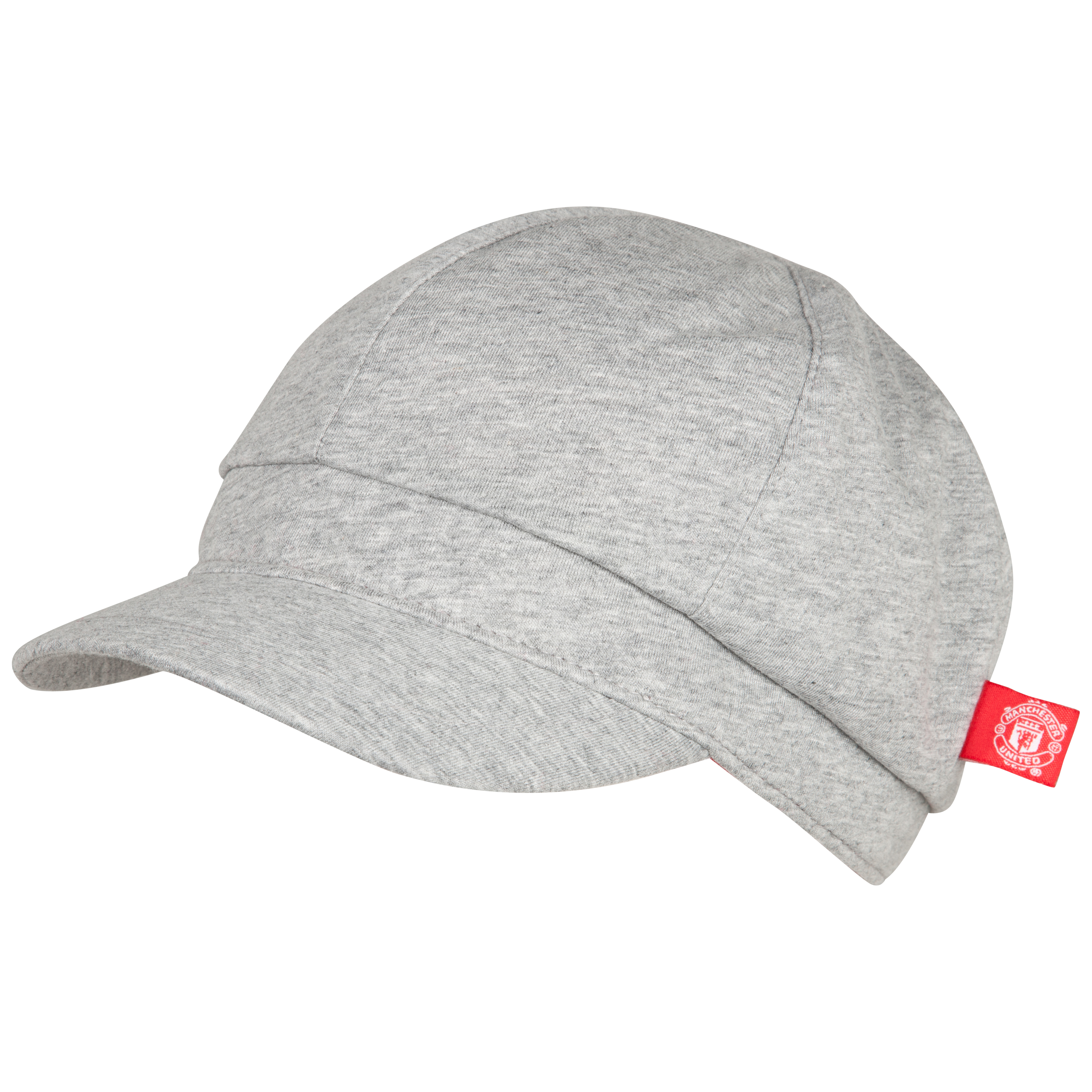 Manchester United Baker Boy Cap - Grey - Womens