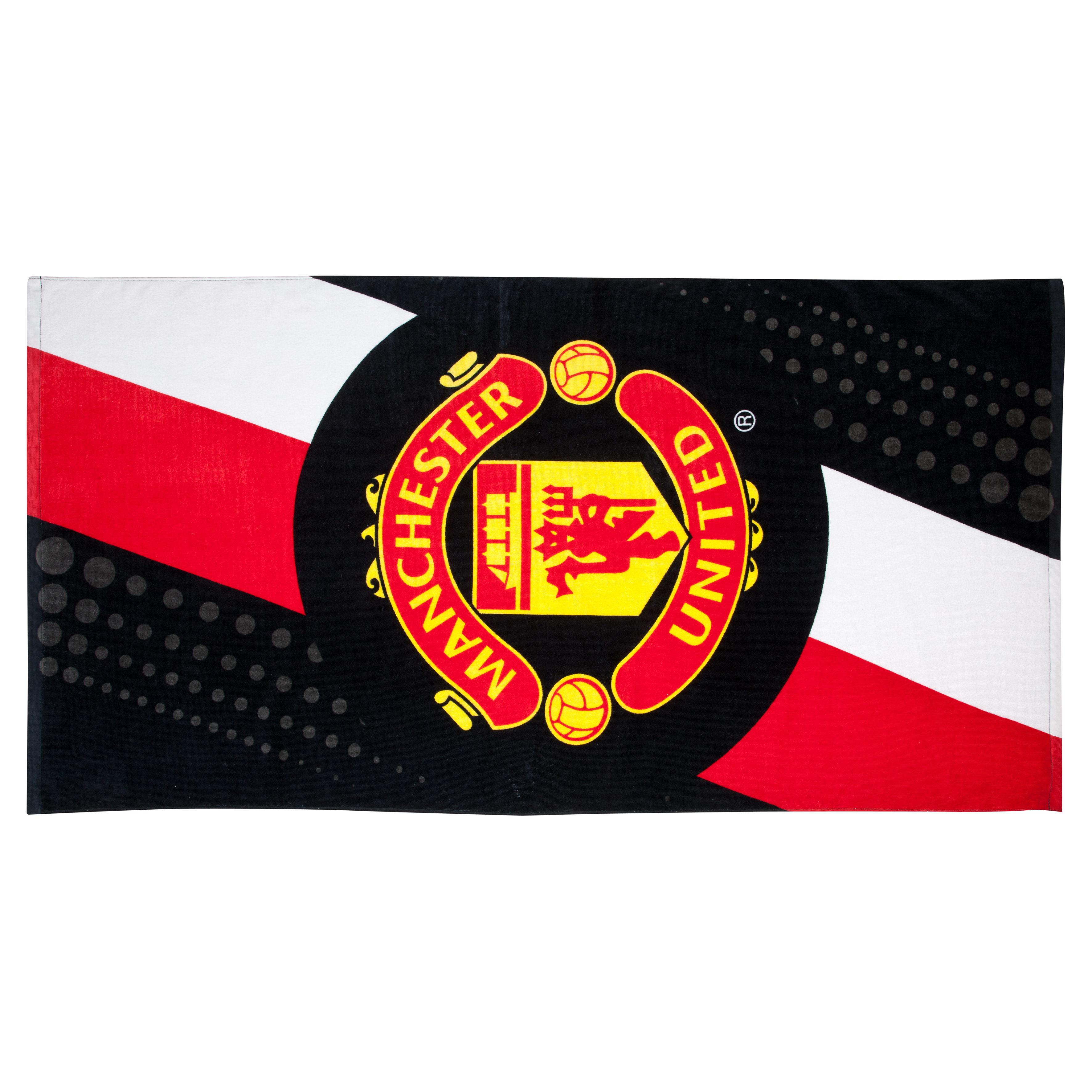 Manchester United Stripe Towel