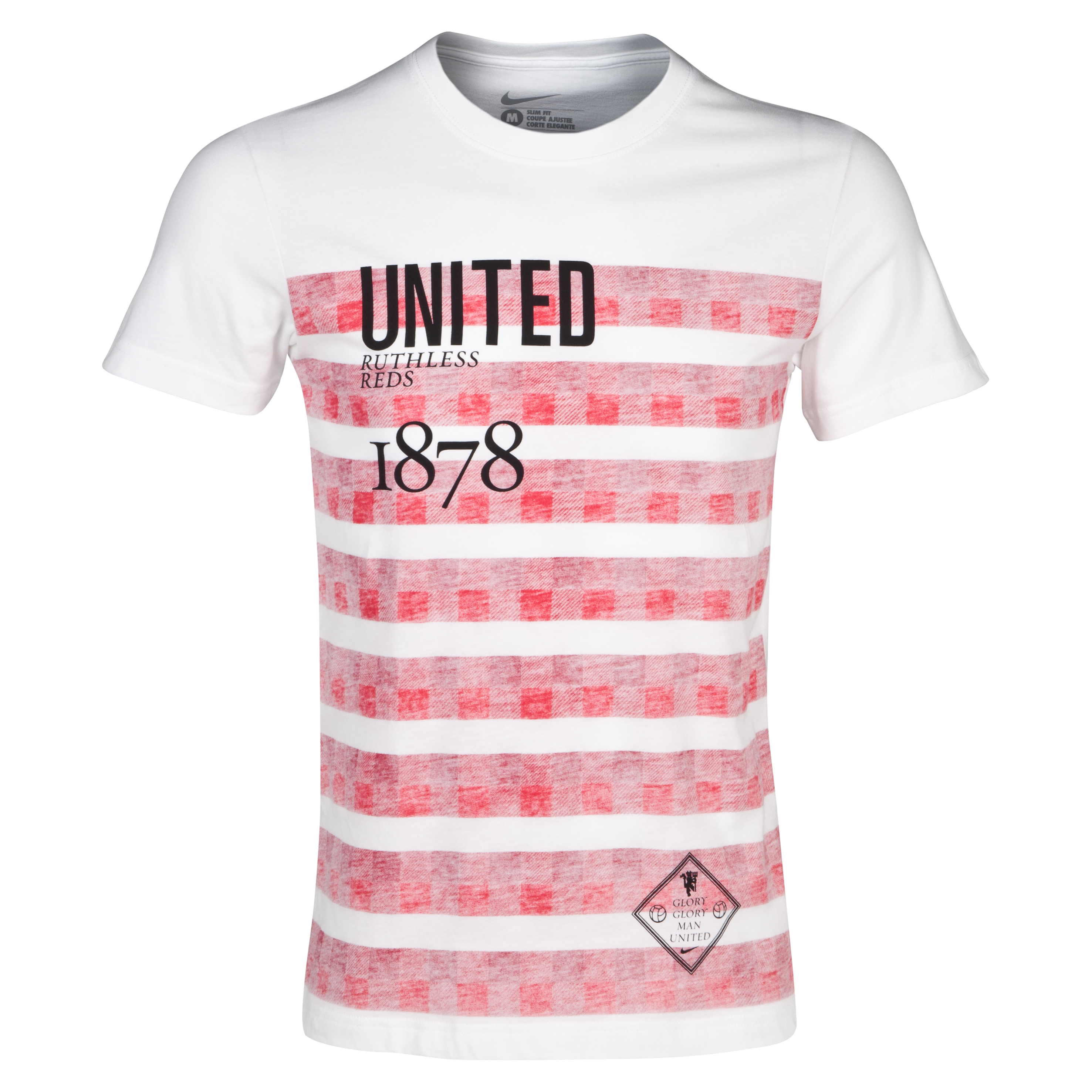 Manchester United Authentic T-Shirt - White