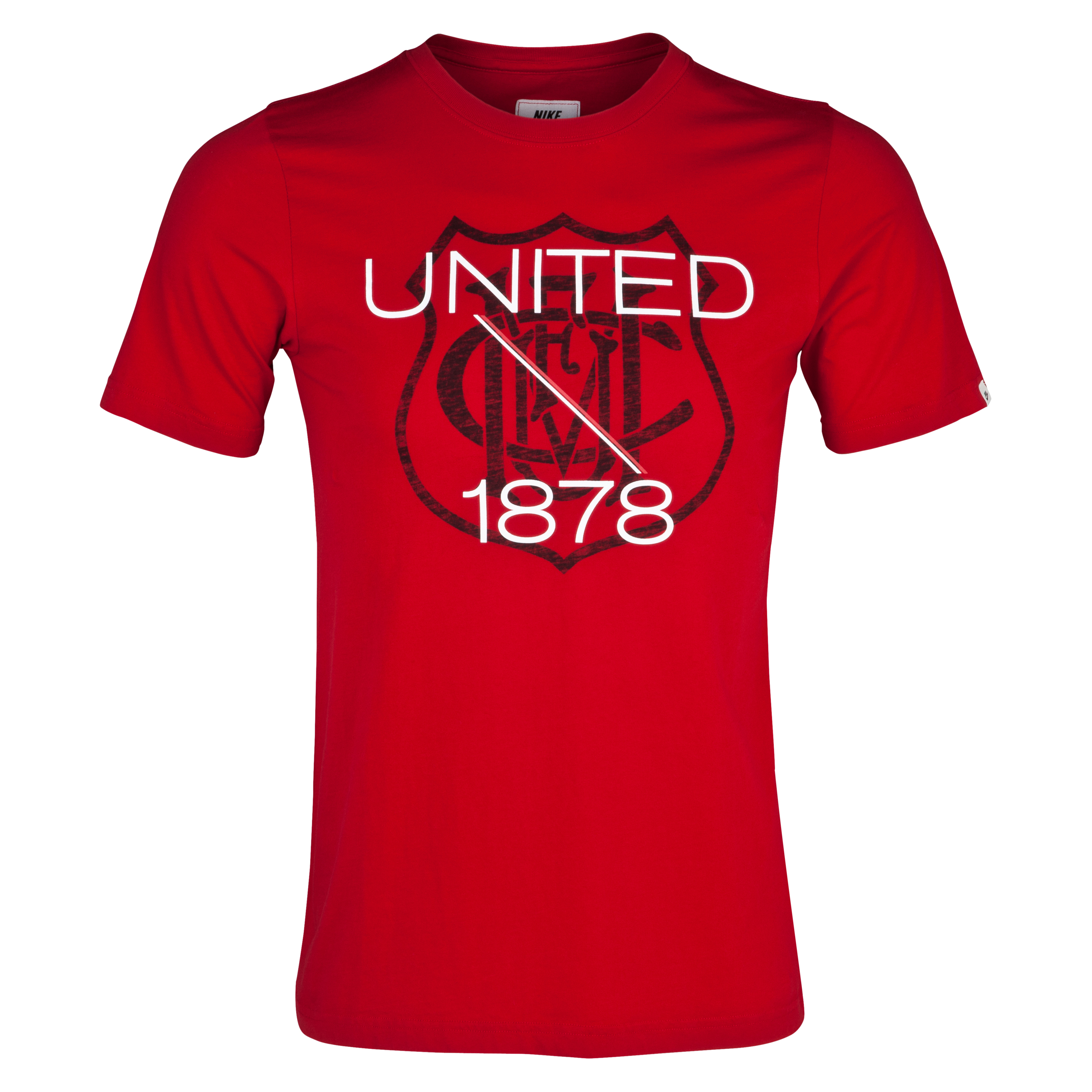 Manchester United Covert Vintage T-Shirt - Gym Red
