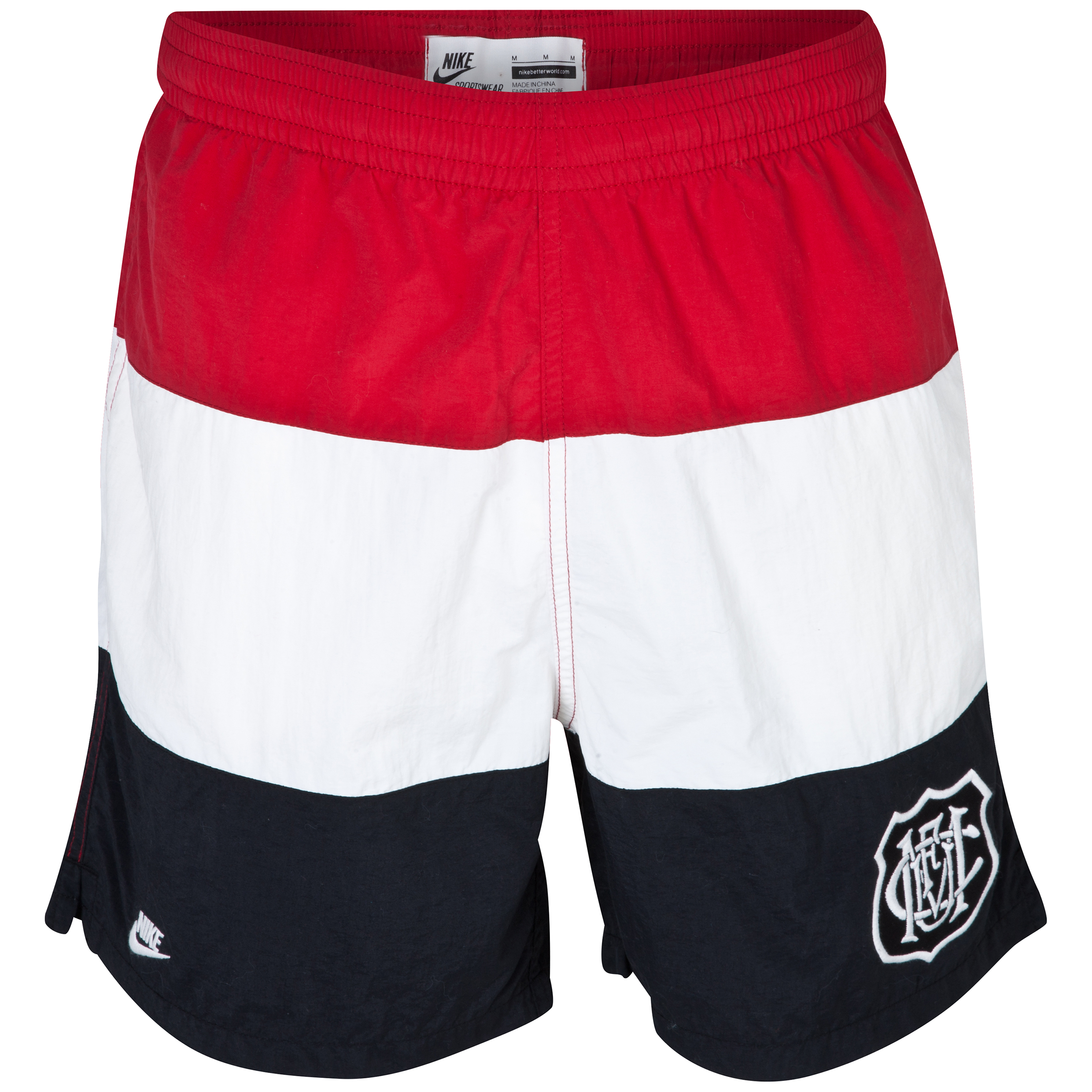 Manchester United Covert Team Shorts - Gym Red/Sail/Black