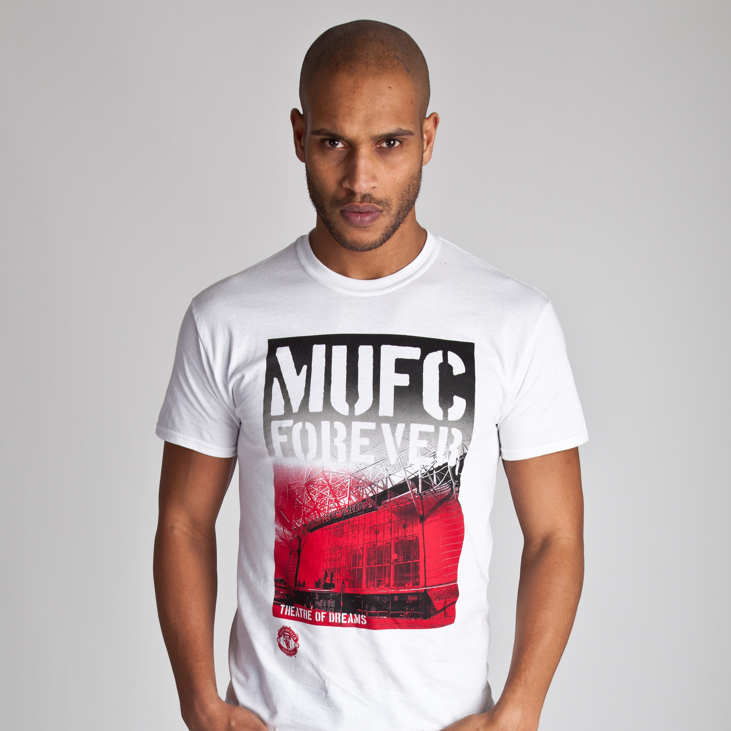 Manchester United Stadium Graphic T-Shirt