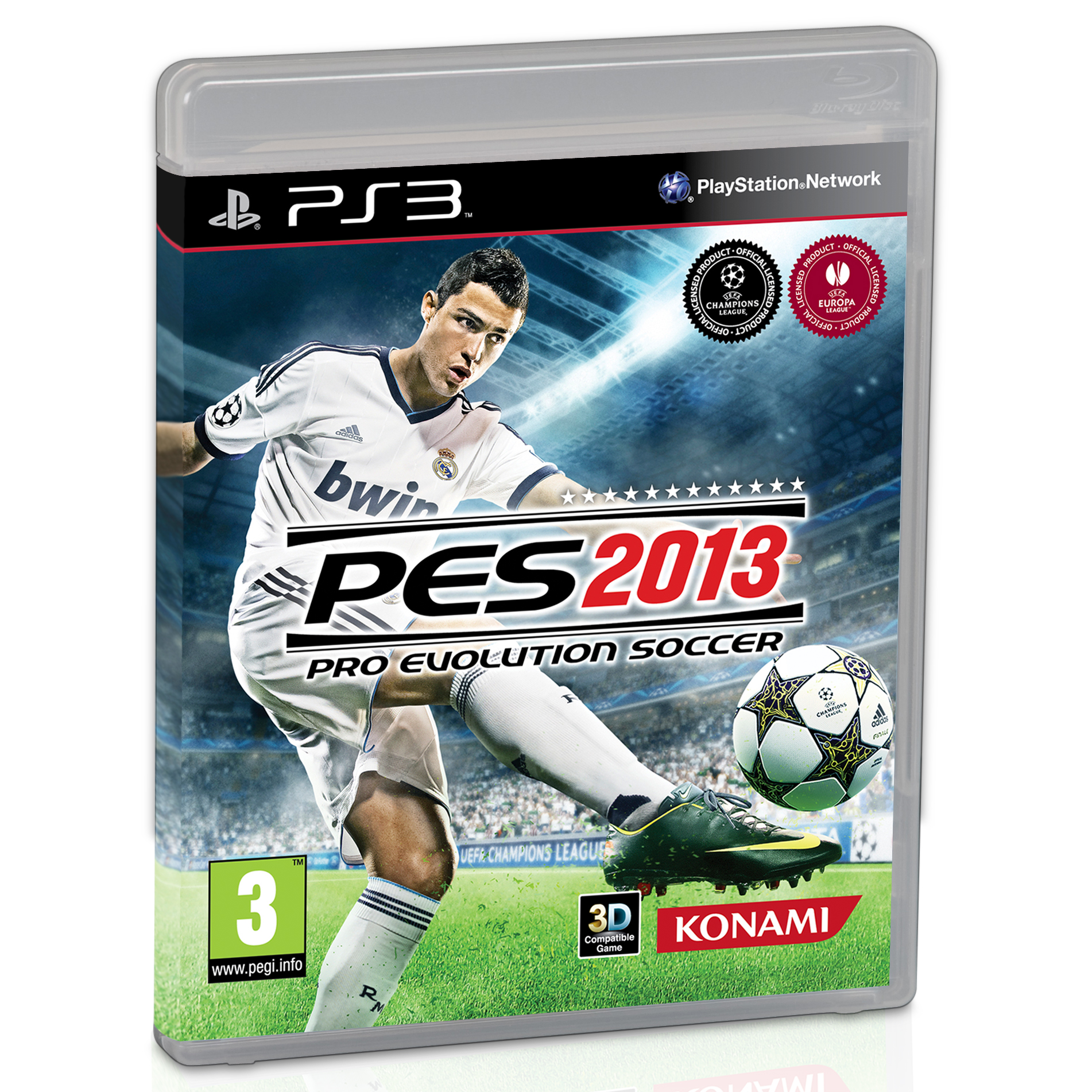 Manchester United Pro Evolution Soccer 2013 (Pes 2013) PS3 Game