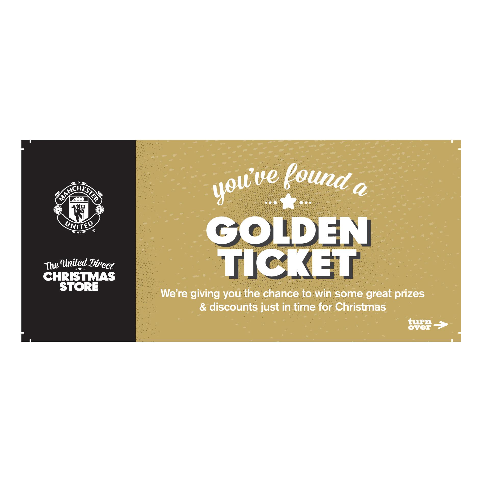 Manchester United Golden Ticket