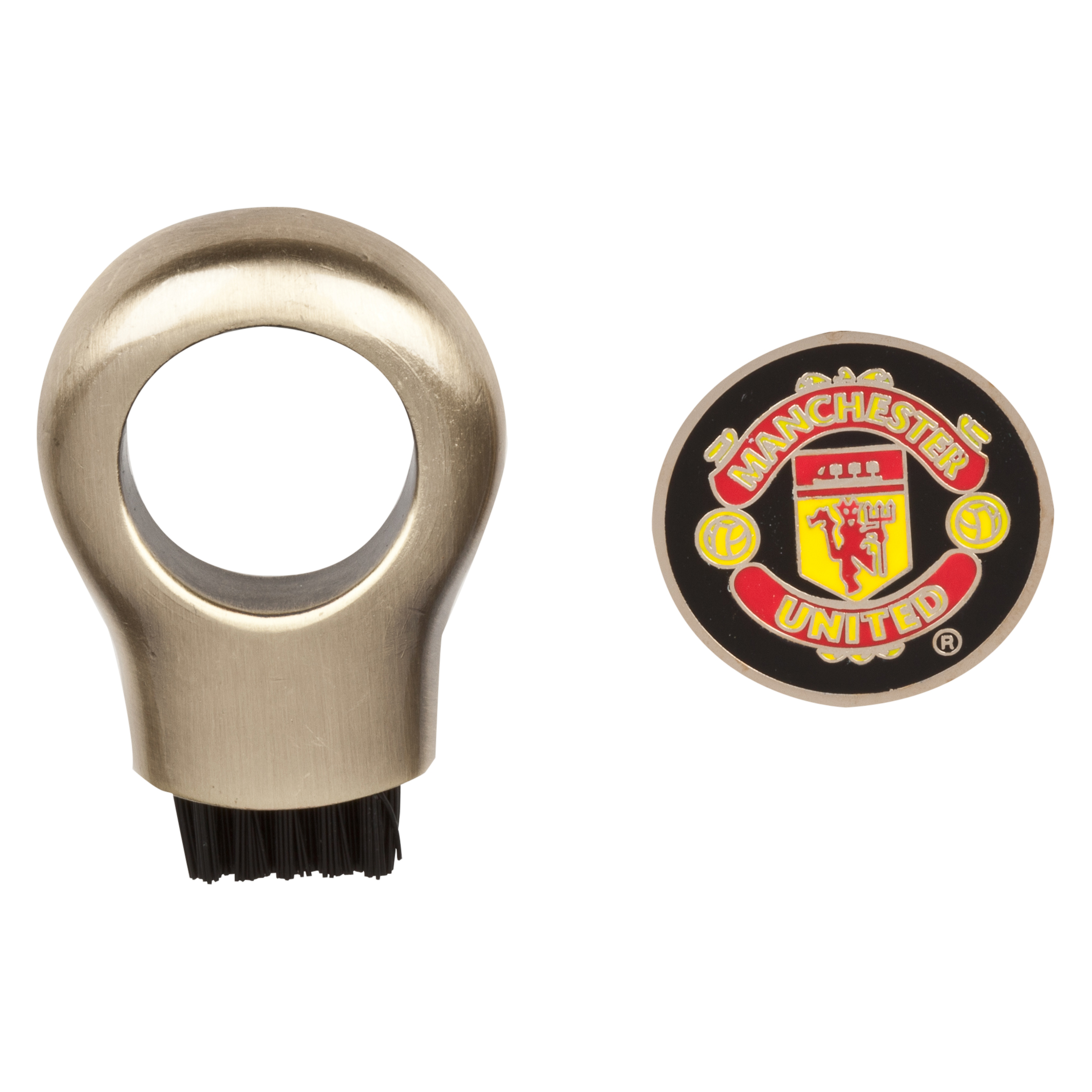 Manchester United Golf Club Cleaning Brush and Marker