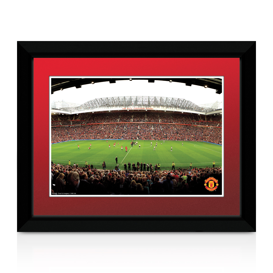 Manchester United Old Trafford Print - 8 x 6 inches