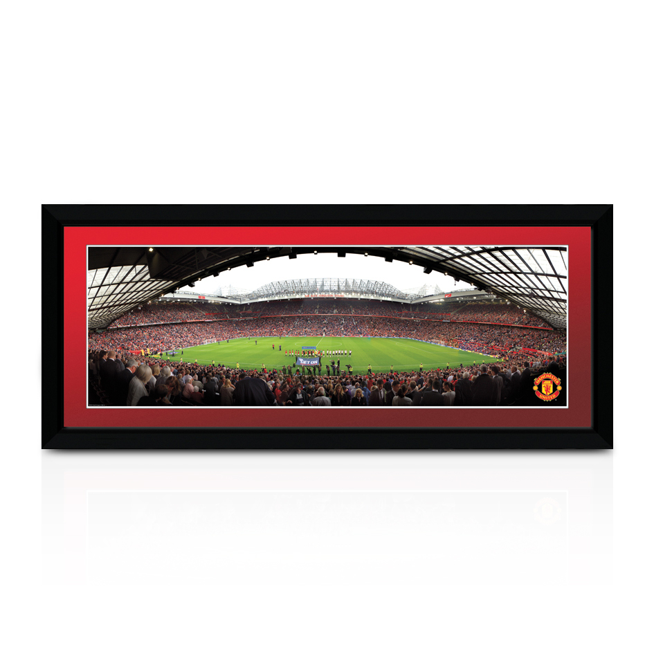 Manchester United Old Trafford Theatre Of Dreams Match Day Print - 30 Inches