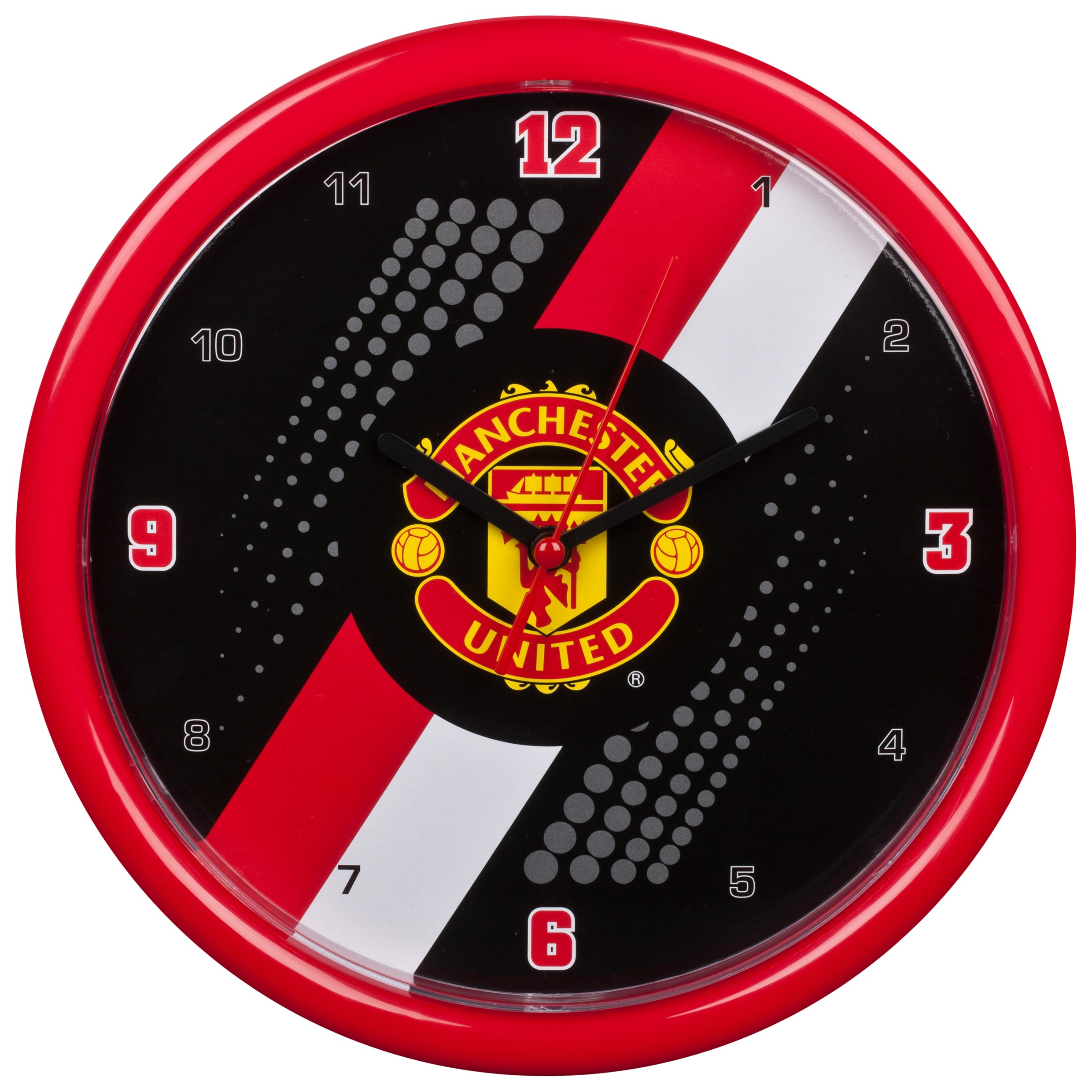 reloj-pared-a-rayas-manchester-united