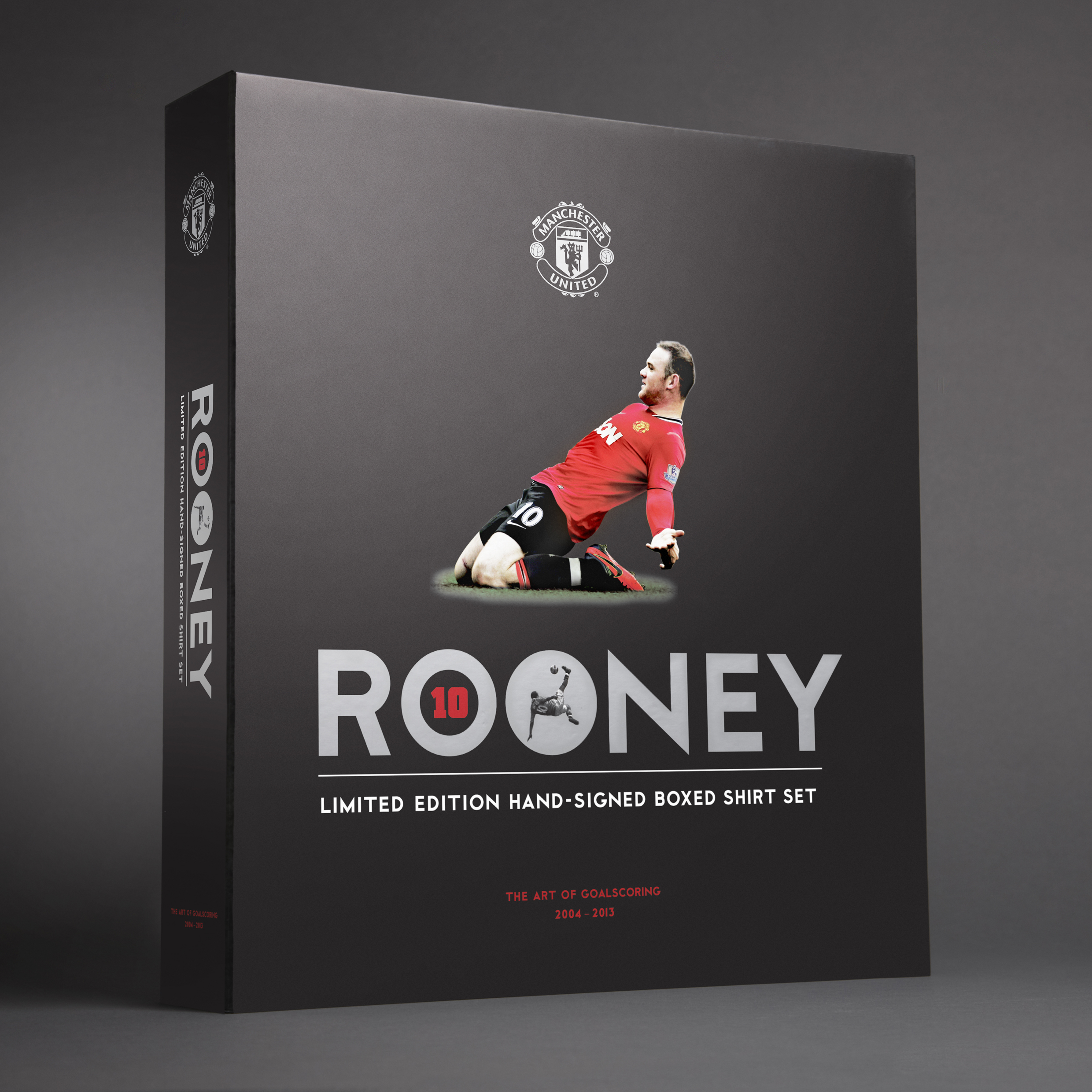 Manchester United Rooney 400 Appearances Limited Edition Hand Signed Boxed Shirt Set