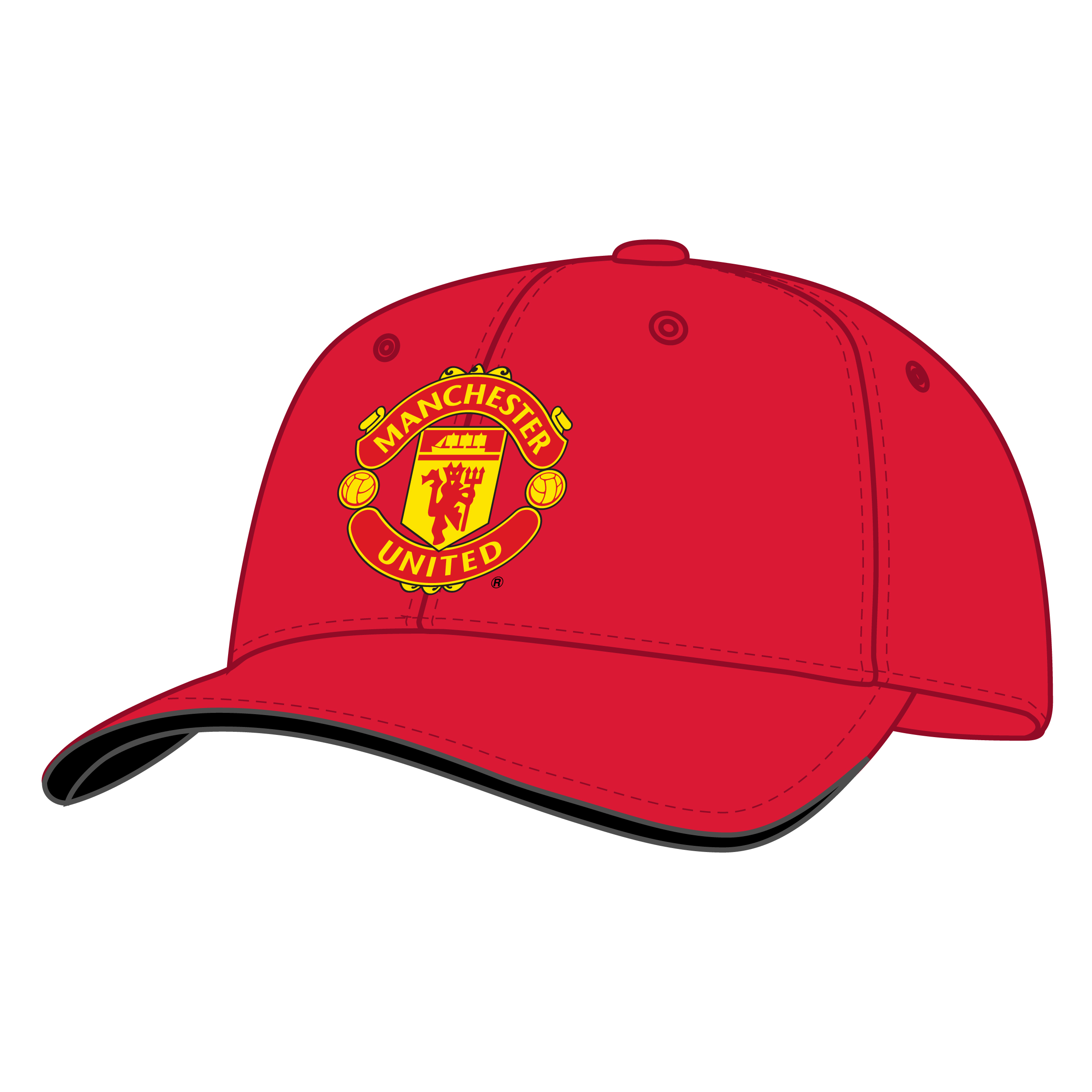 Manchester United 20 League Titles Cap - Red - Adult