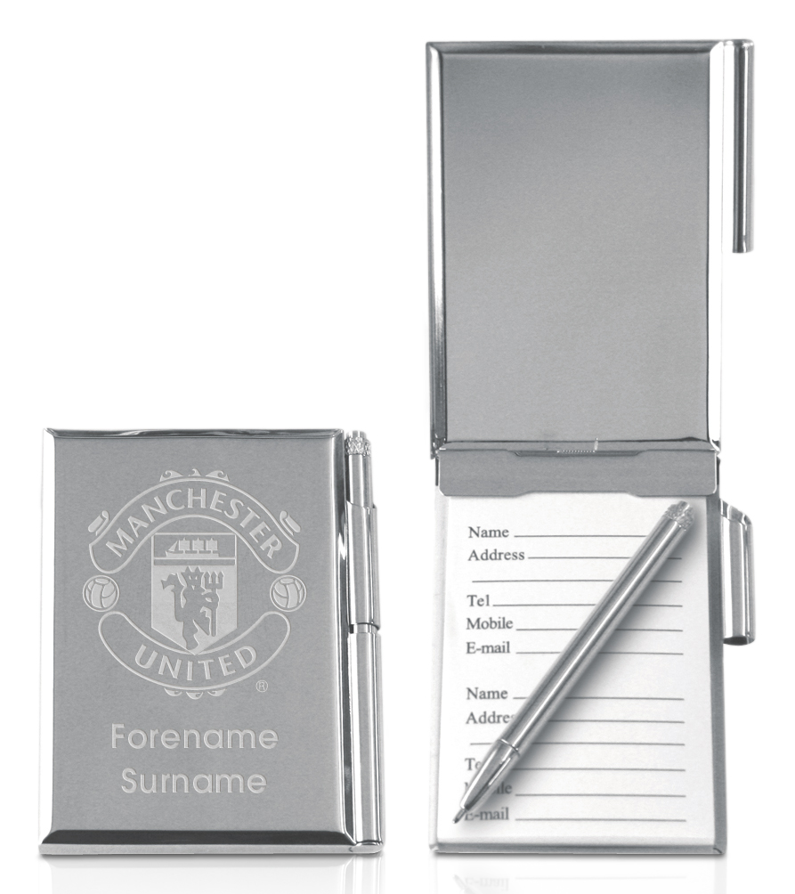 Manchester United Personalised Address Book