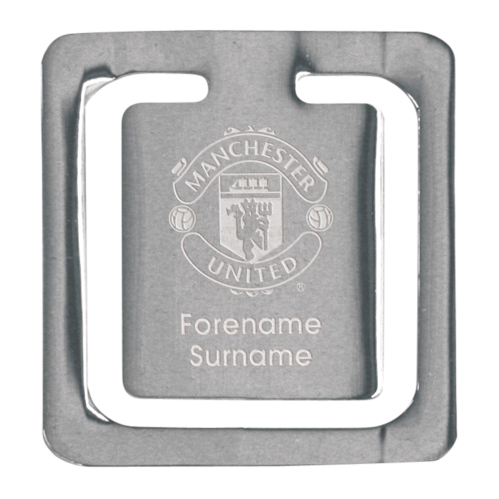 Manchester United Personalised Bookmark