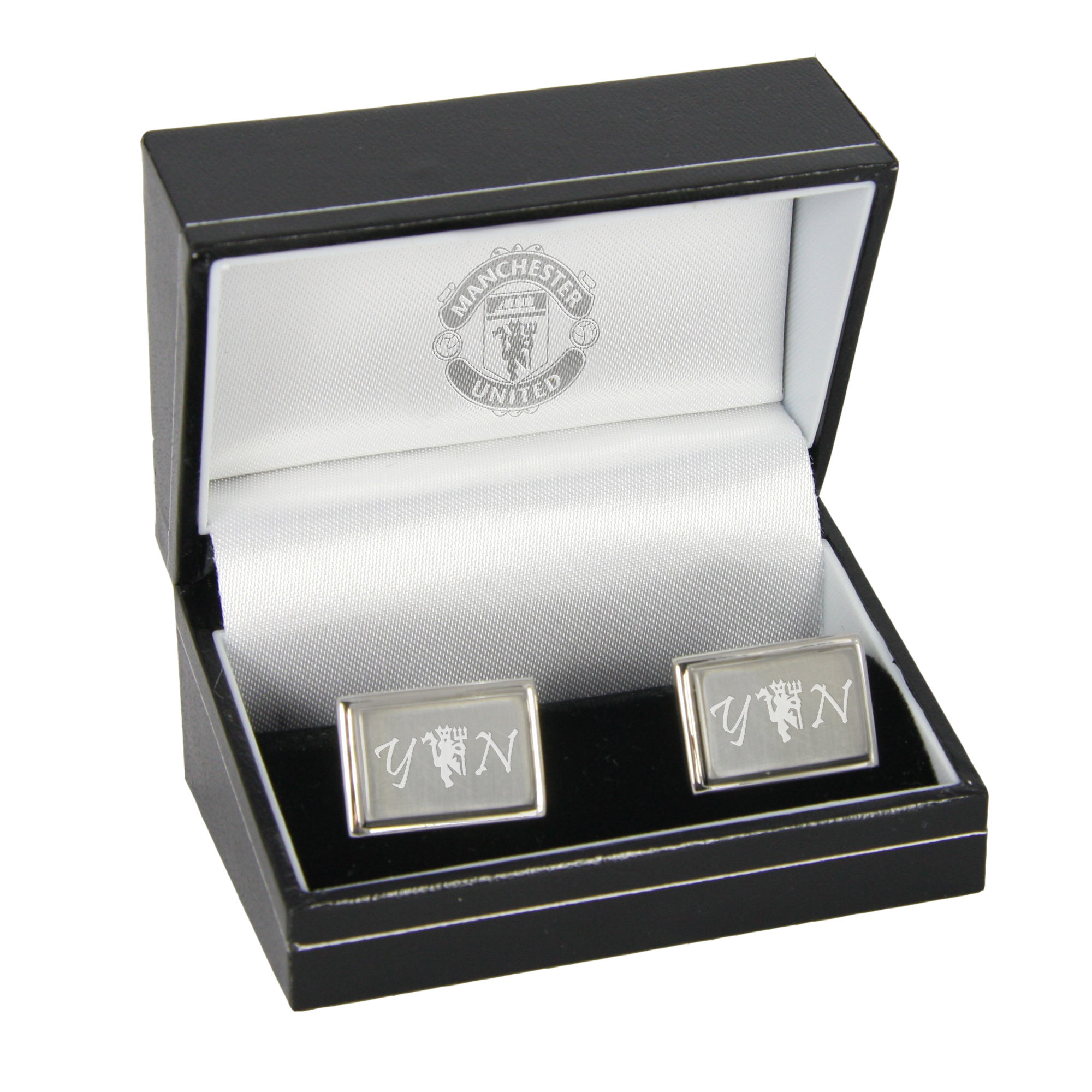 Manchester United Personalised Red Devil Cufflinks
