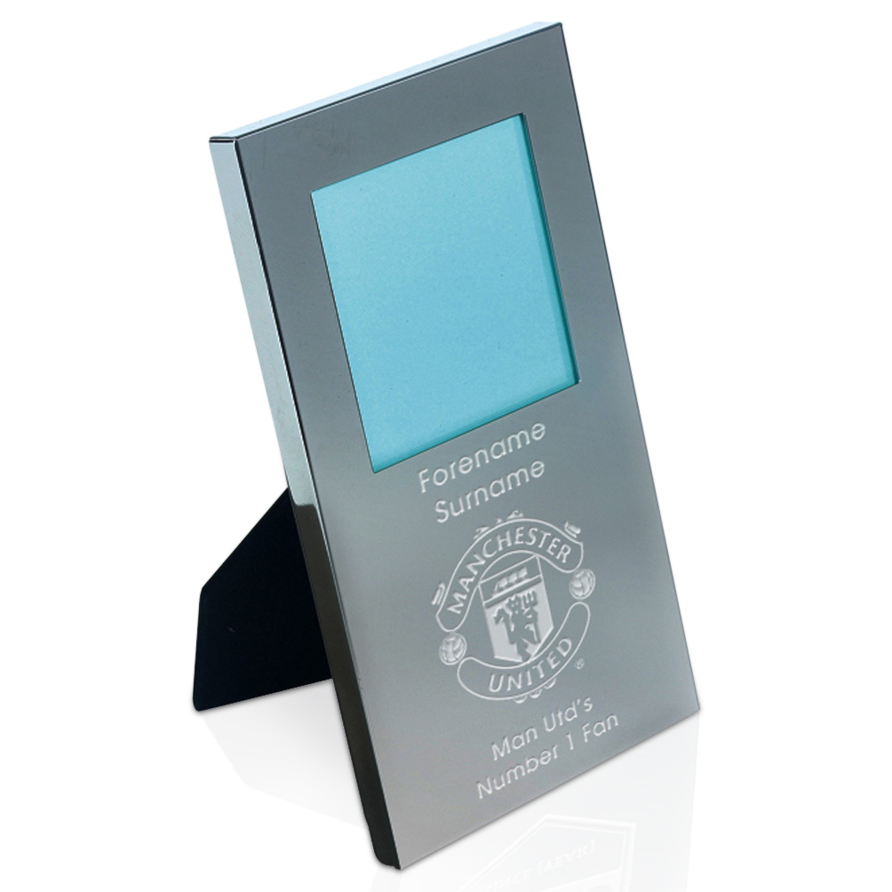 Manchester United Personalised Engraved Photo Frame