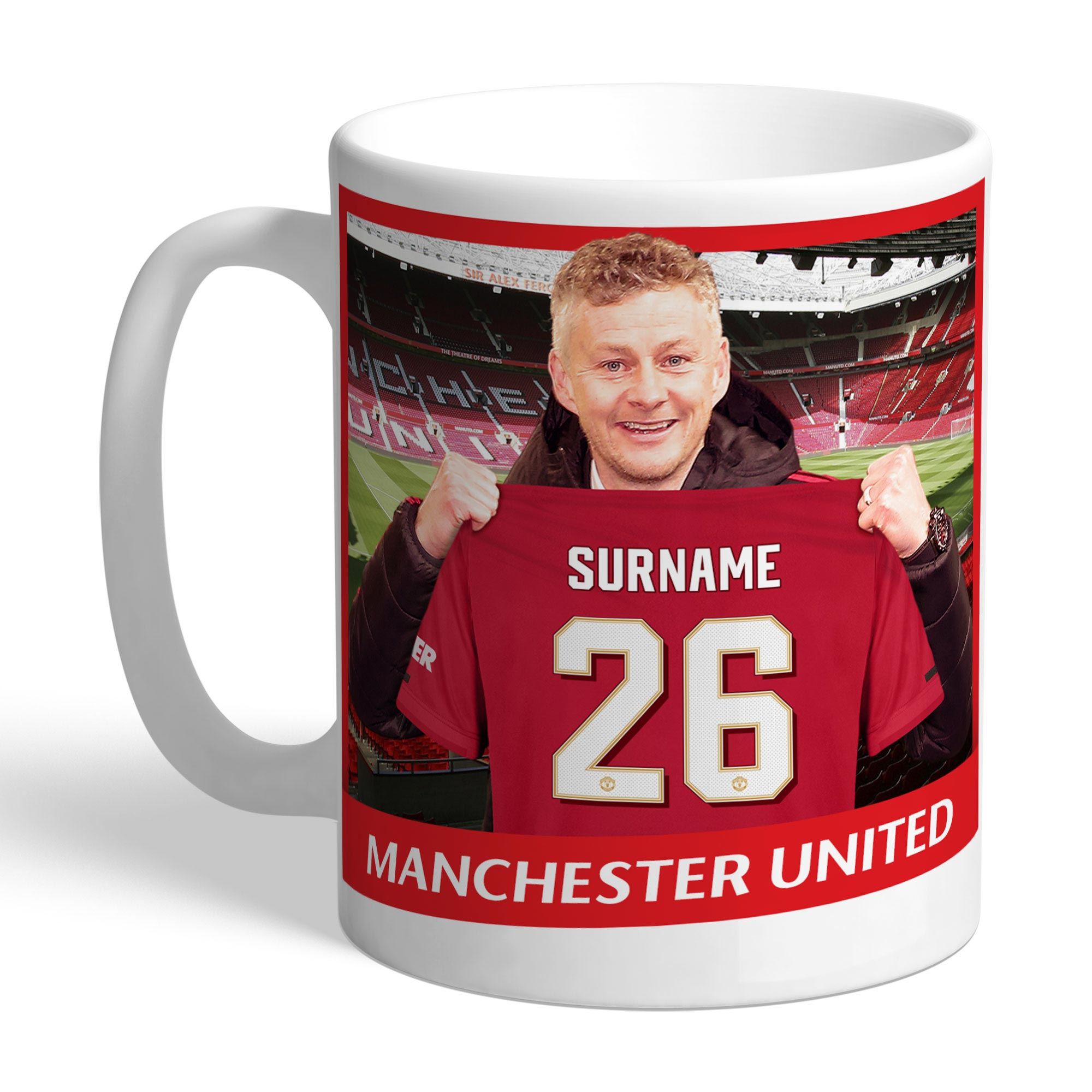 Manchester United Personalised Manager Mug