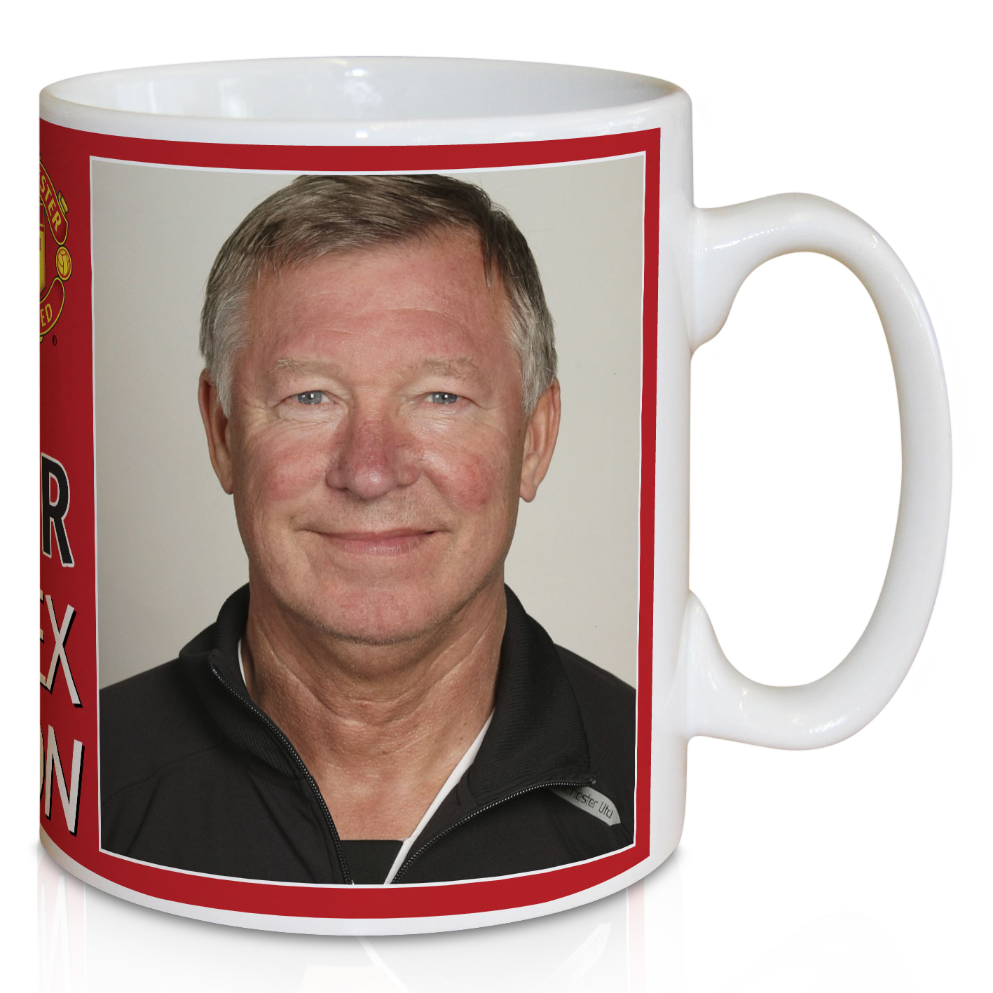 Manchester United Personalised Player Signature Mug - Alex Ferguson