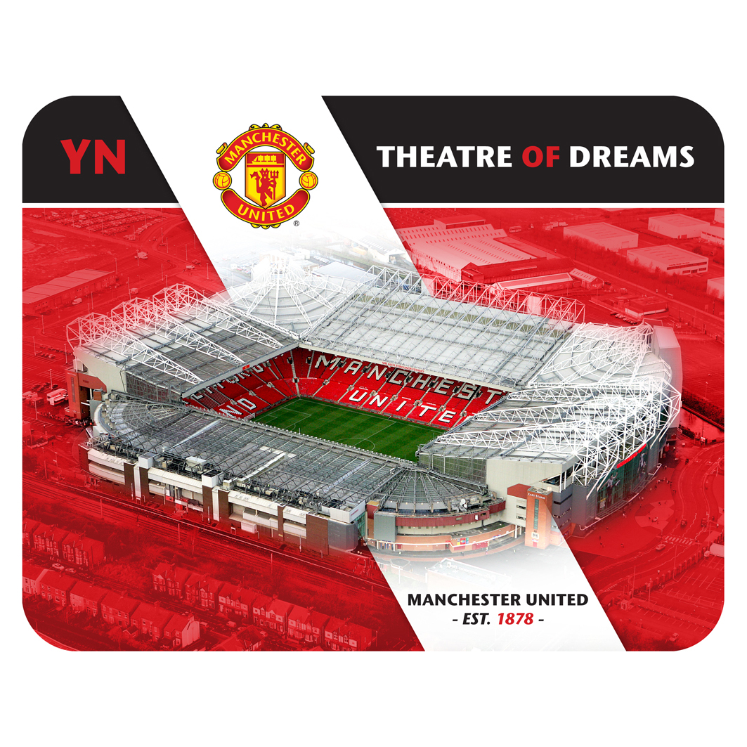 Manchester United Personalised Old Trafford Mouse Mat