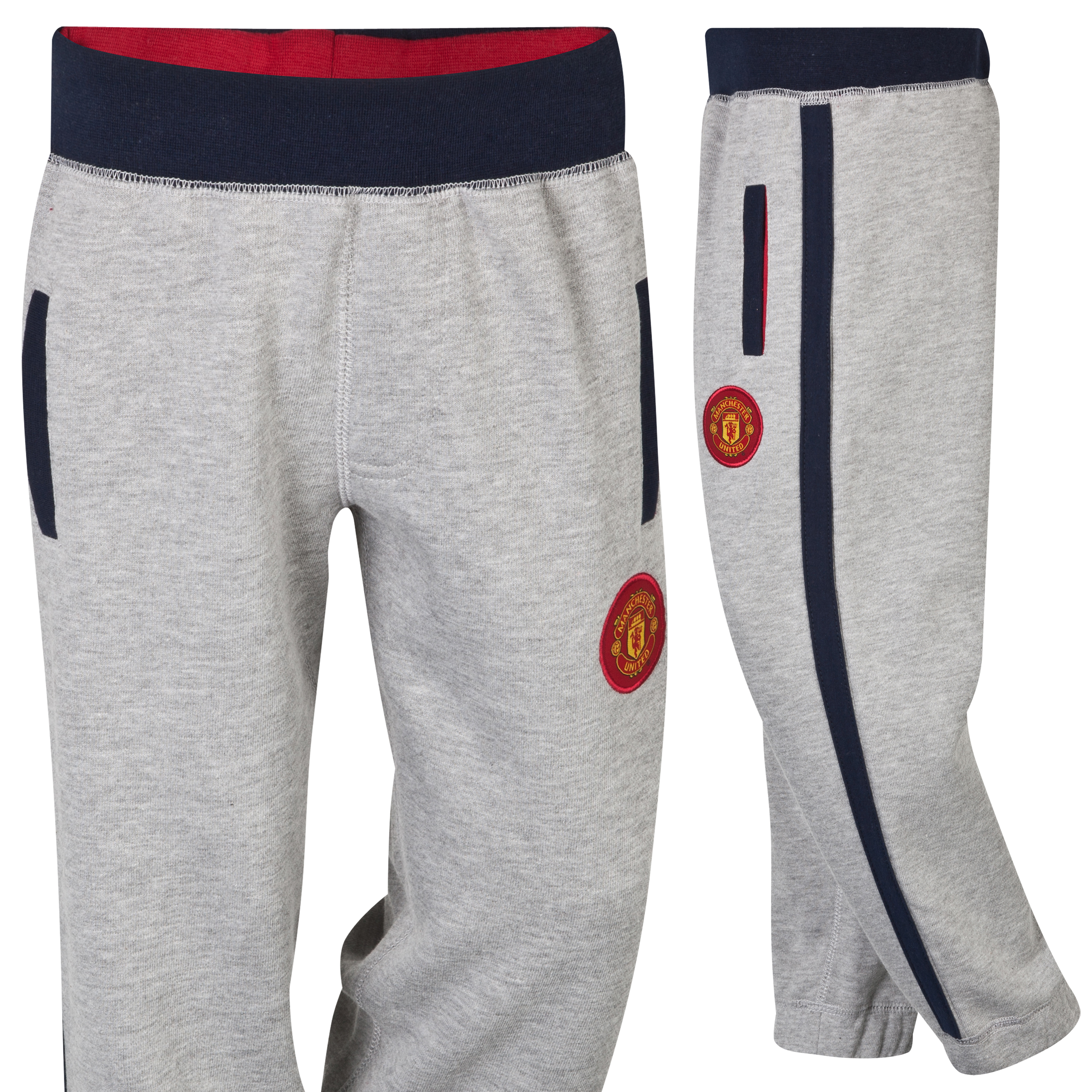 Manchester United Fleece Joggers  - Infant Boys Grey