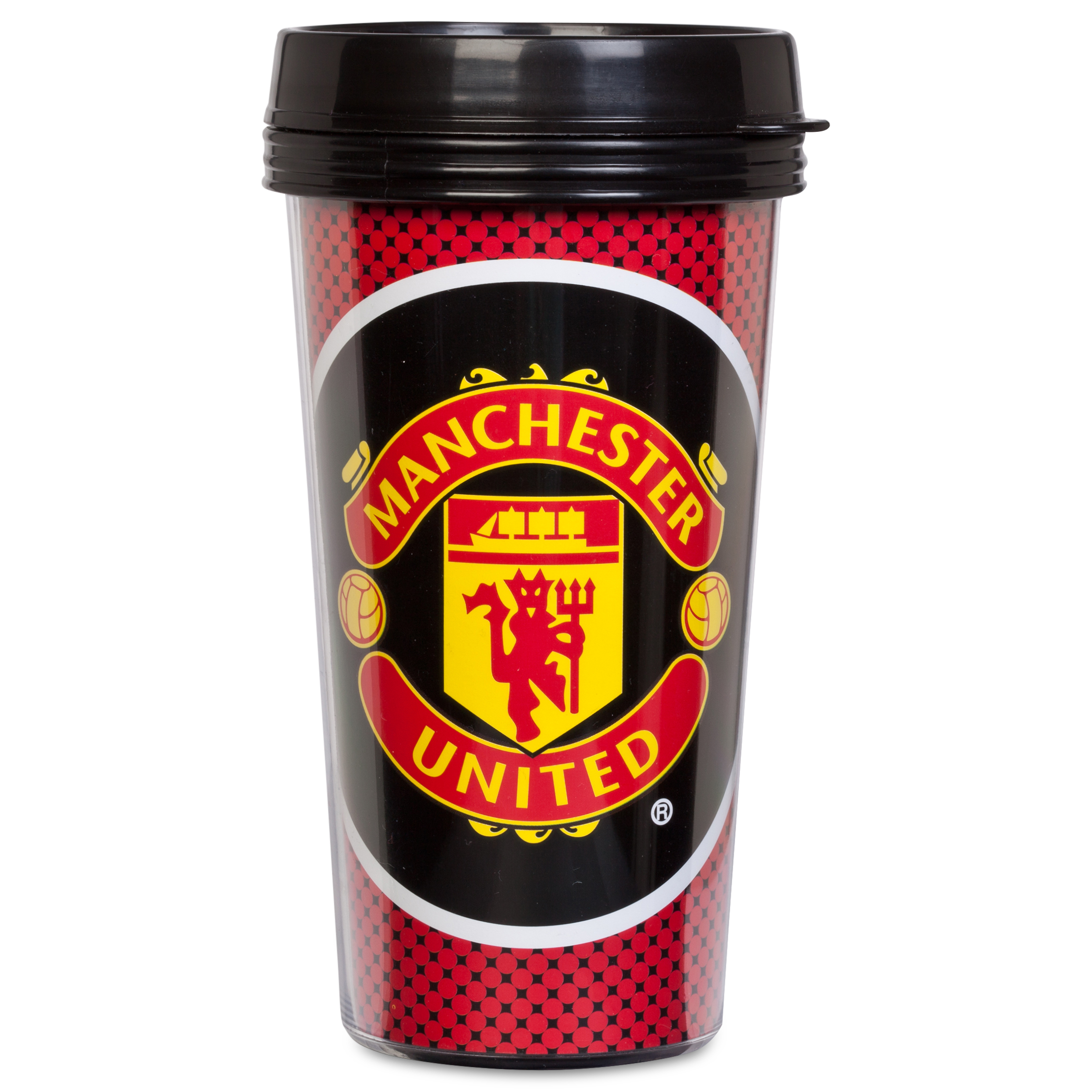 Manchester United Bullseye Travel Mug