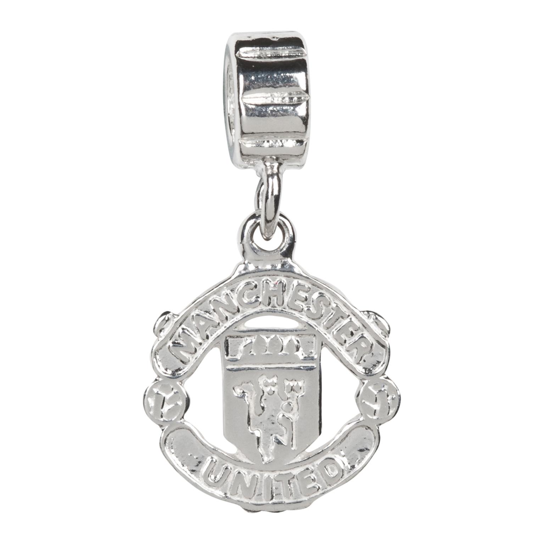 Manchester United Crest Bracelet Charm - Sterling Silver