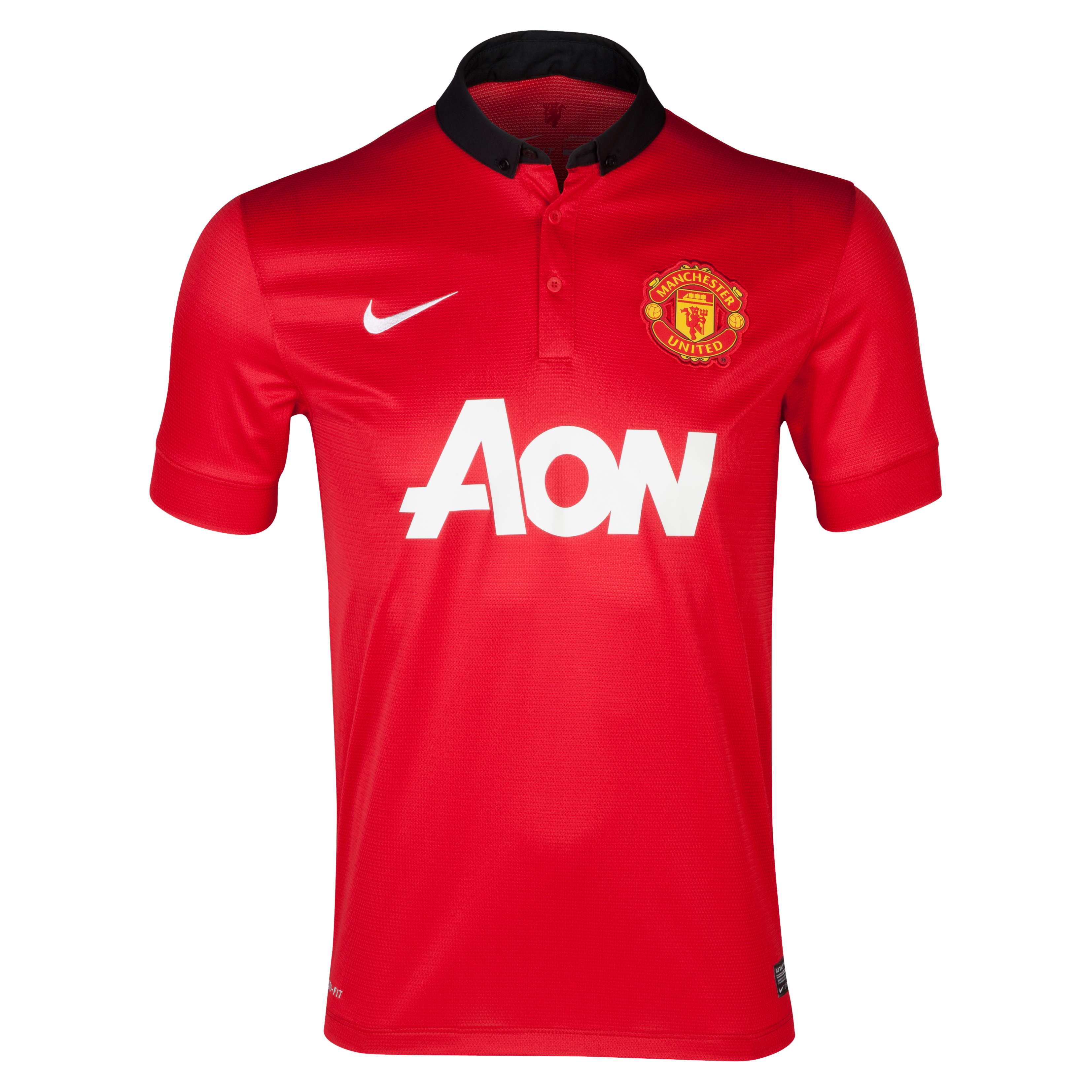 MAILLOT DOMICILE MANCHESTER UNITED  2013/14  YOUTHS  POWELL 25