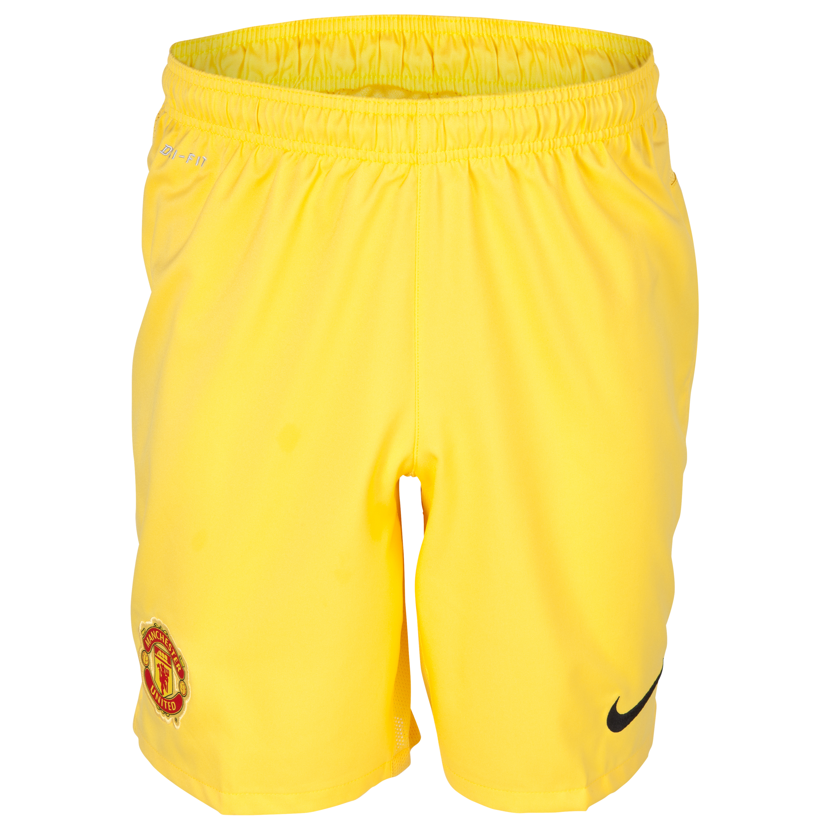 Manchester United Change Goalkeeper Shorts 2013/14 - Kids