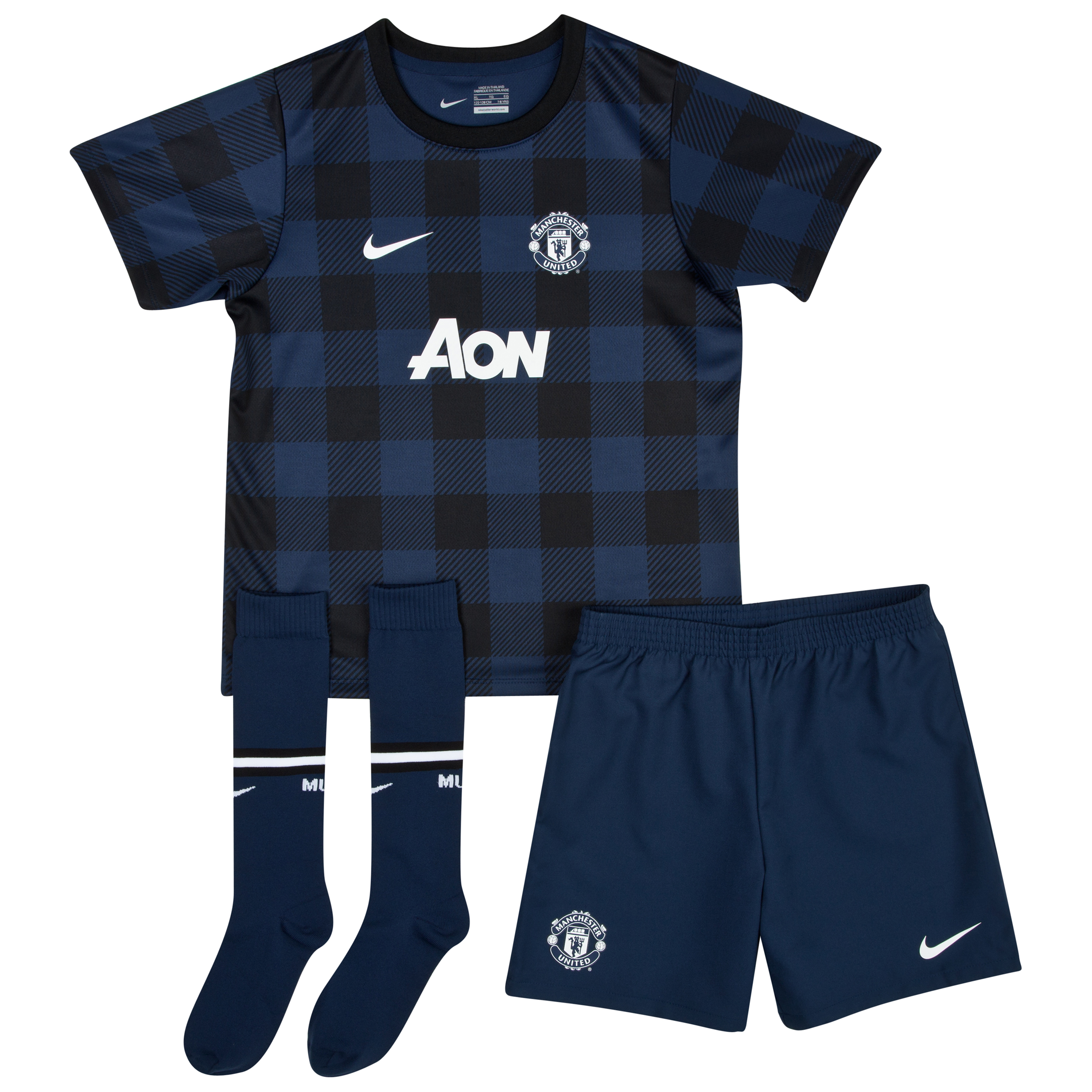 Manchester United Away Kit 2013/14 - Little Boys