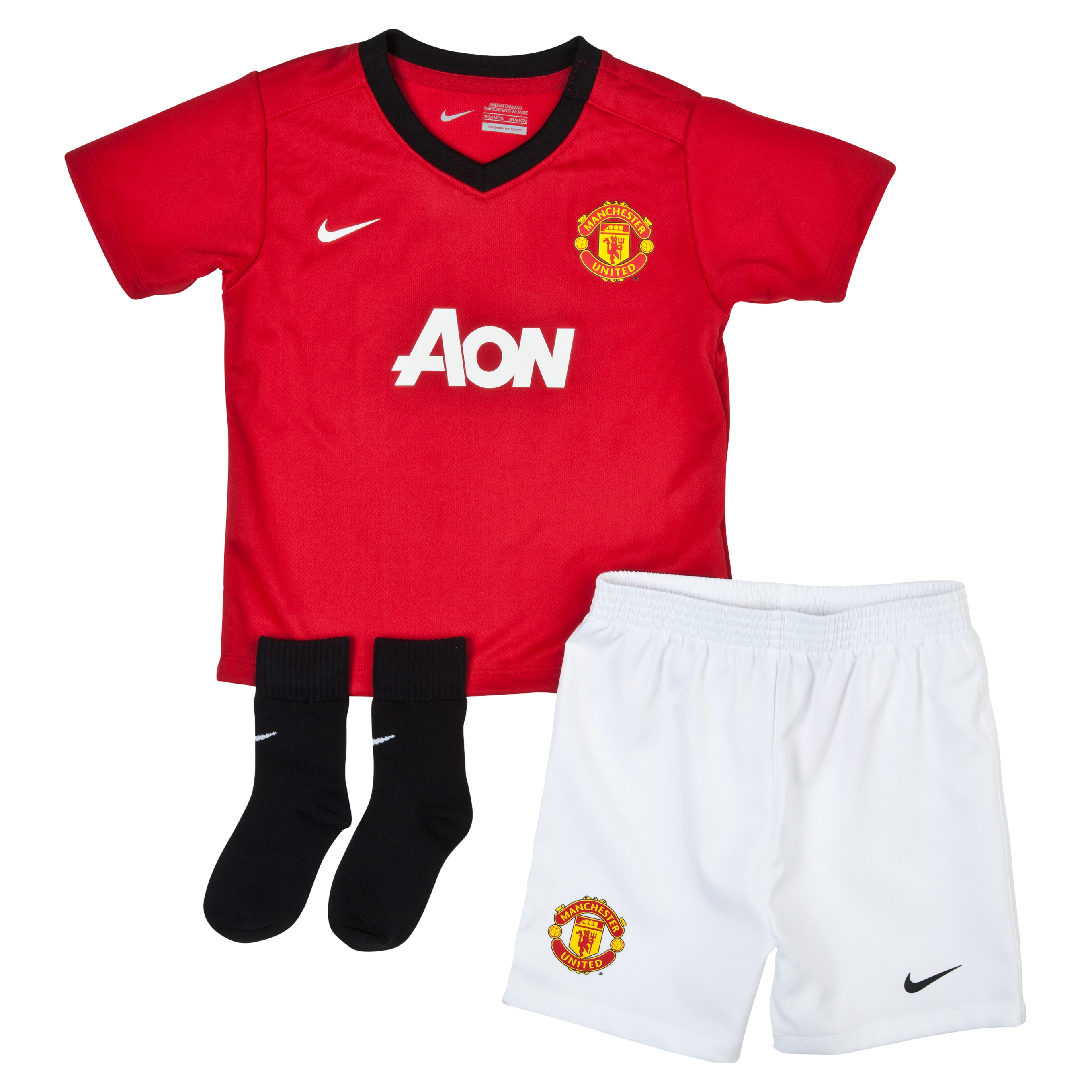 Manchester United Home Kit 2013/14 Infants