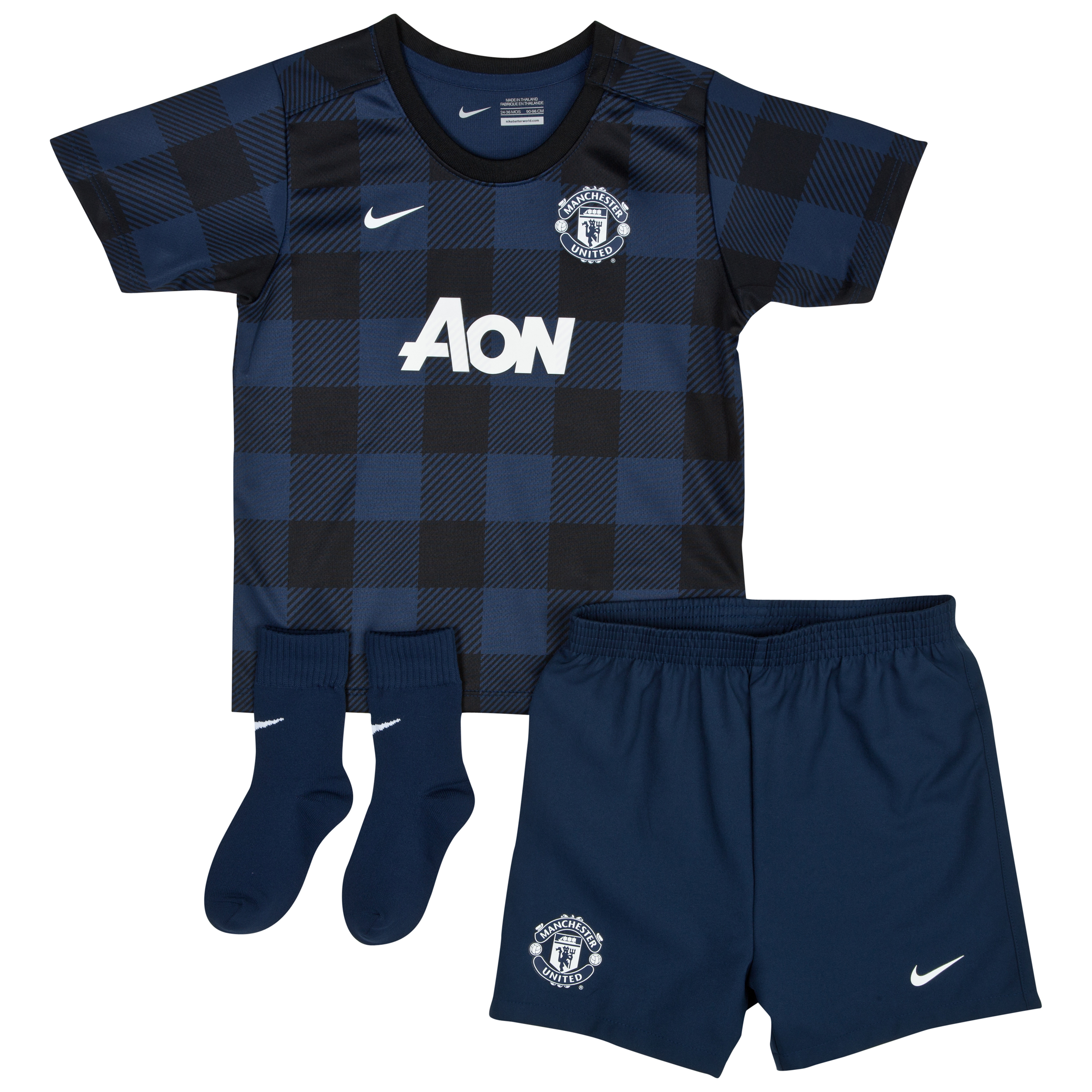 Manchester United Away Kit 2013/14 - Infants