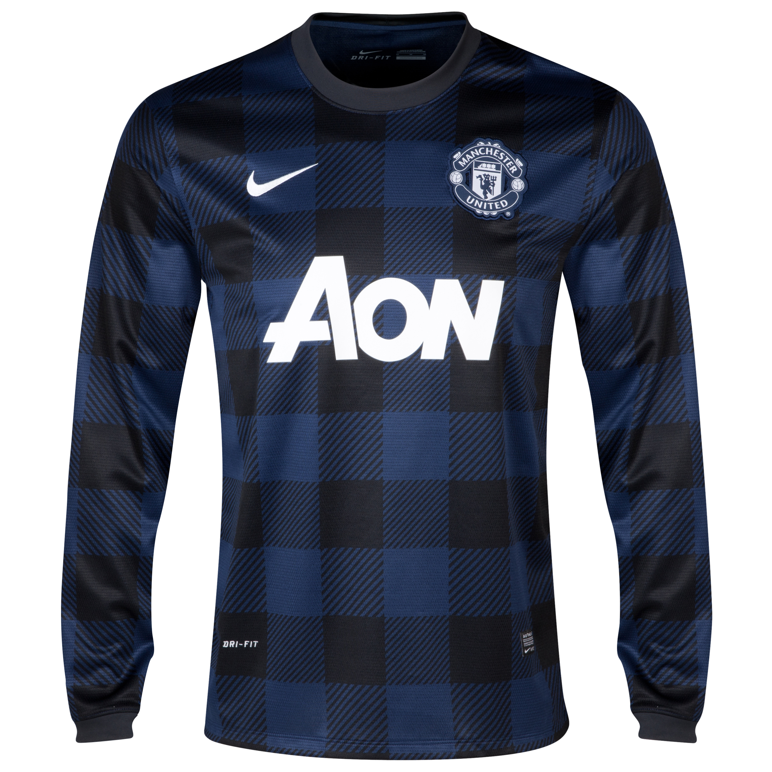 Manchester United Away Shirt 2013/14 - Long Sleeved - Kids