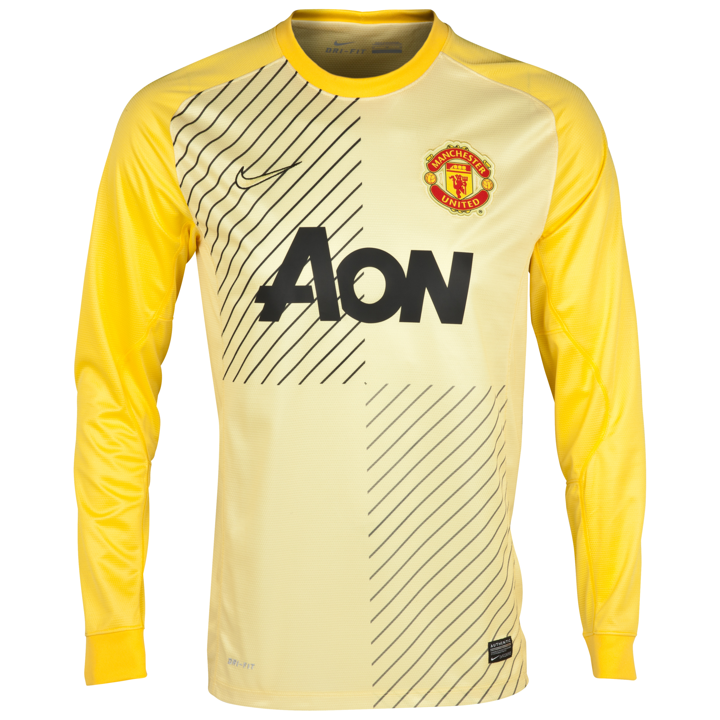 Manchester United Change Goalkeeper Shirt 2013/14 Kids