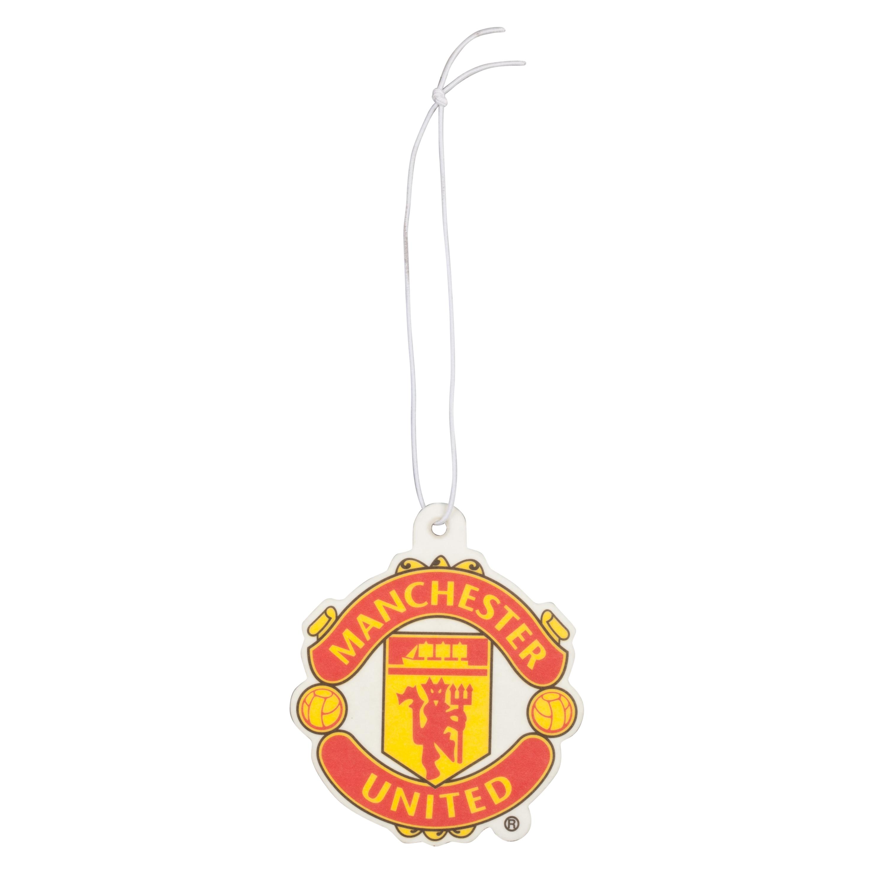 Manchester United Crest Car Air Freshener